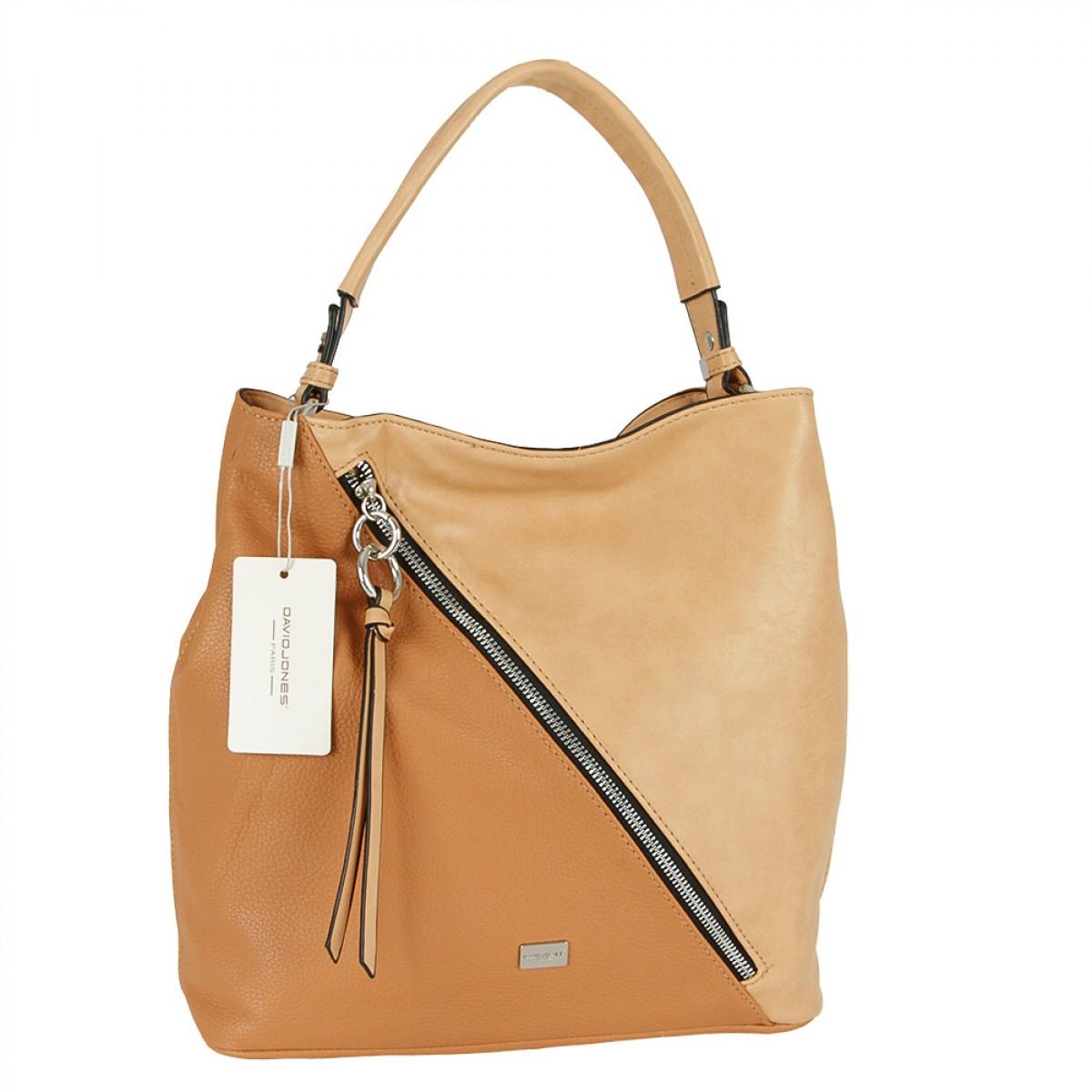 Жіноча сумка David Jones CM5673 CAMEL