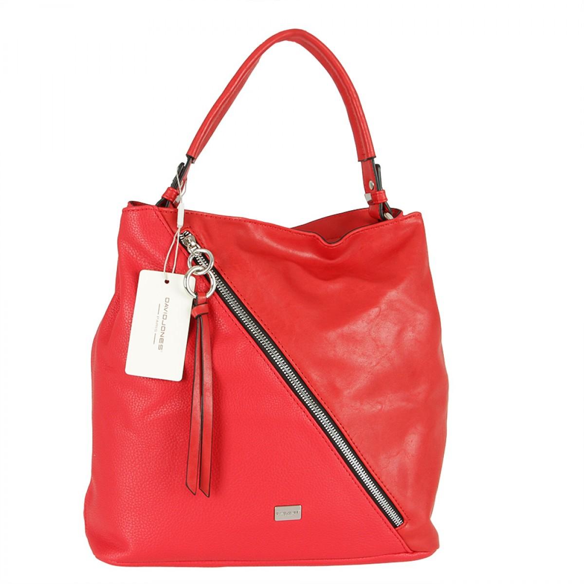 Жіноча сумка David Jones CM5673 RED