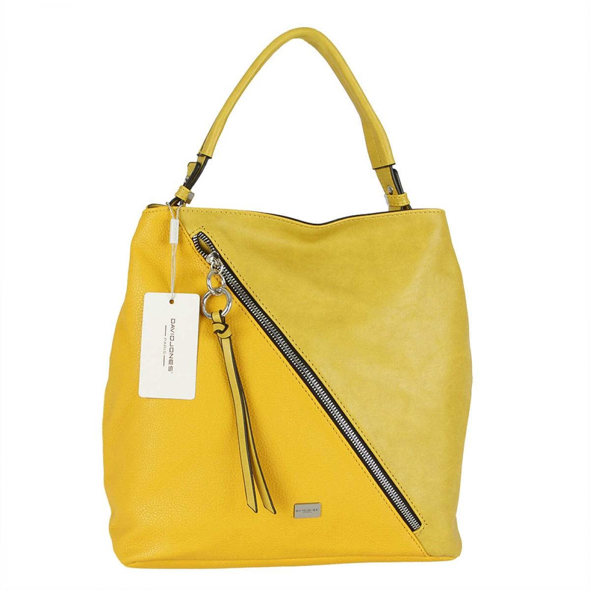 Жіноча сумка David Jones CM5673 YELLOW