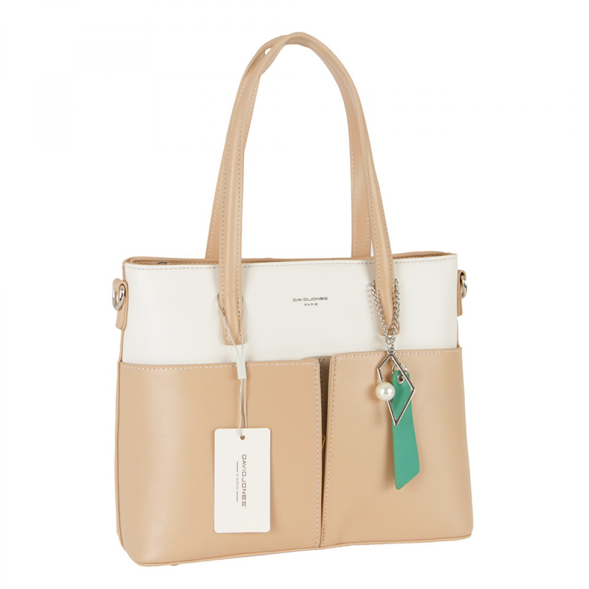 Жіноча сумка David Jones CM5676 NATURAL