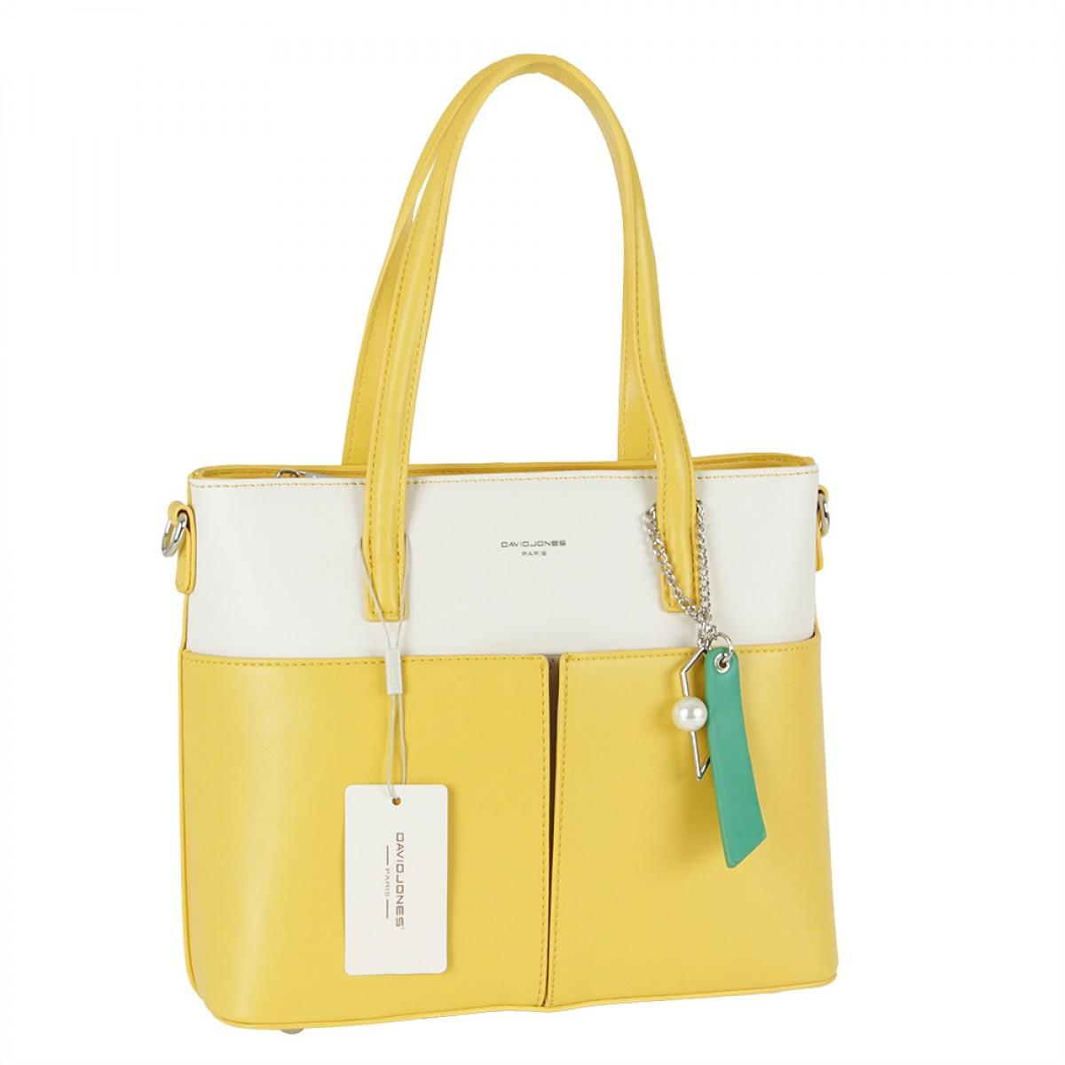 Жіноча сумка David Jones CM5676 YELLOW