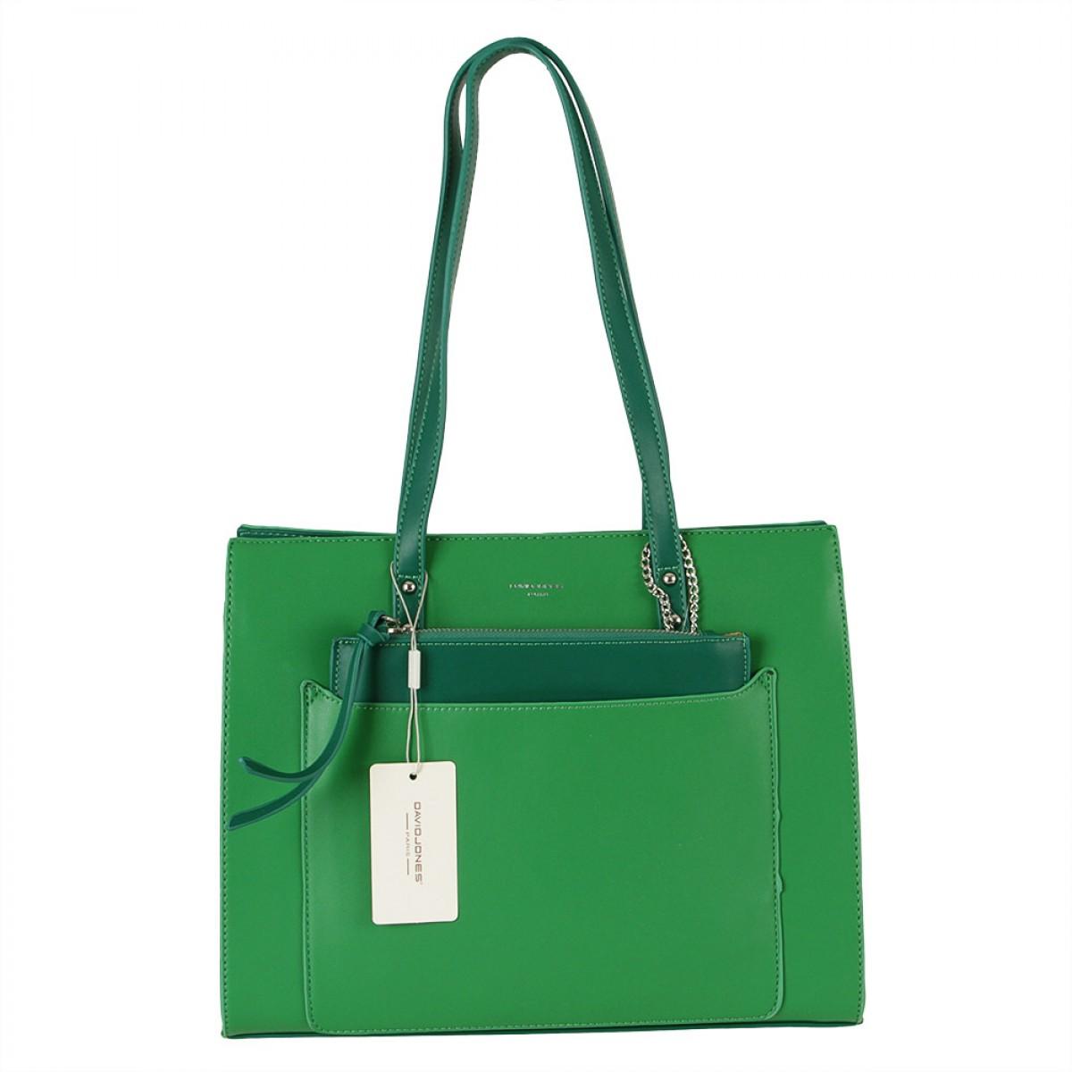 Жіноча сумка David Jones  CM5677 GREEN