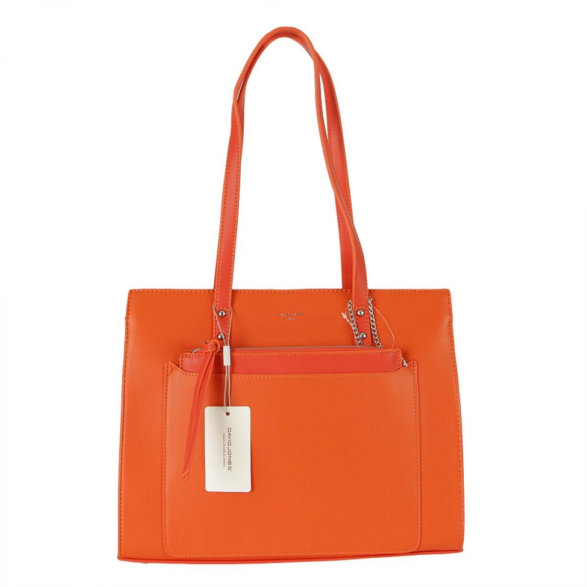 Жіноча сумка David Jones  CM5677 ORANGE