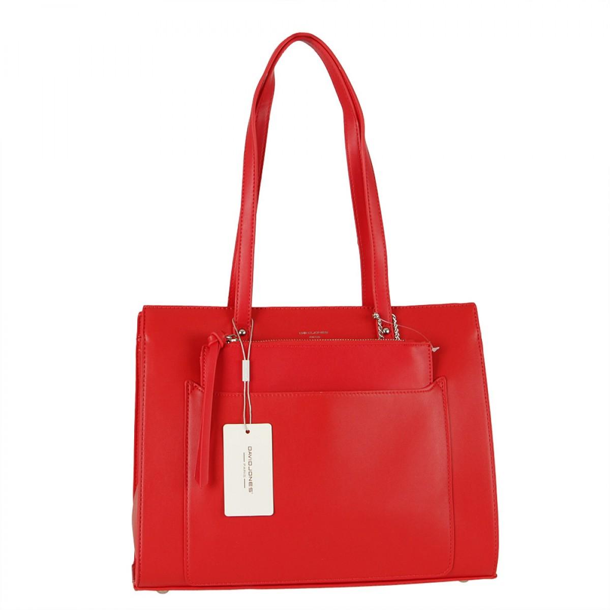 Жіноча сумка David Jones  CM5677 RED