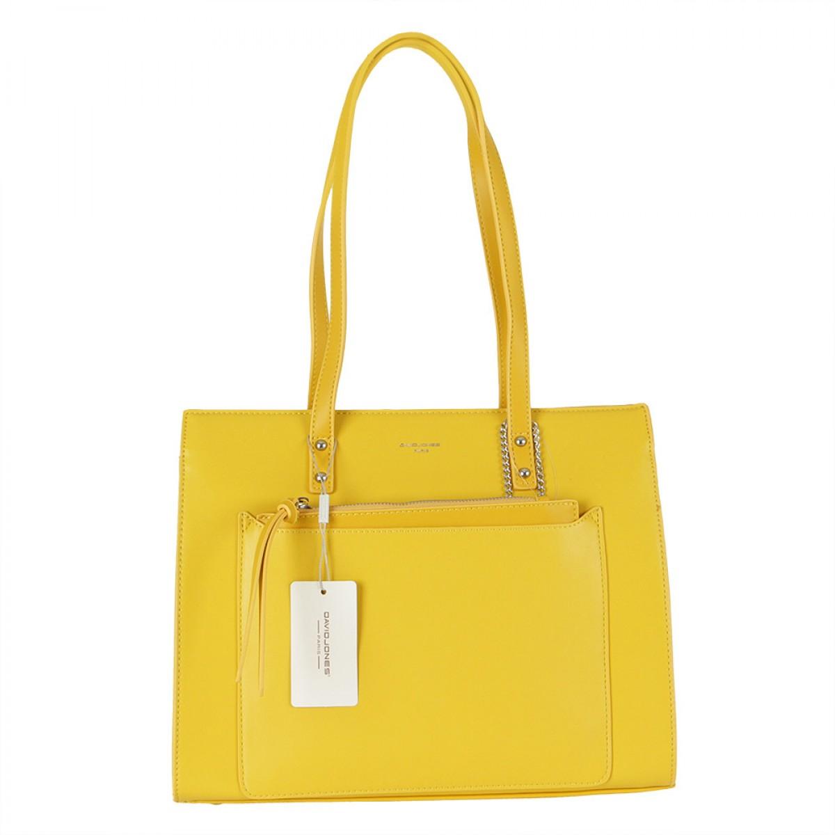 Жіноча сумка David Jones  CM5677 YELLOW