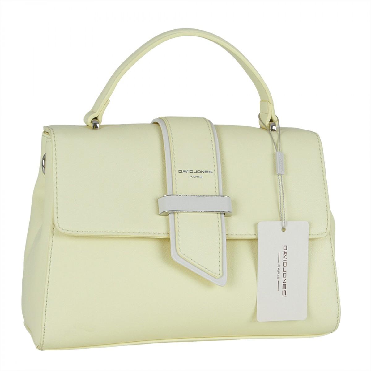 Жіноча сумка David Jones CM5680 FEINT YELLOW
