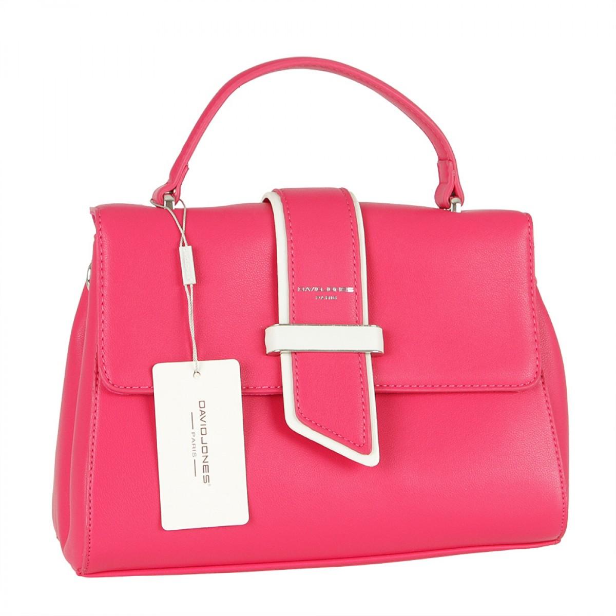 Жіноча сумка David Jones CM5680 ROSE RED