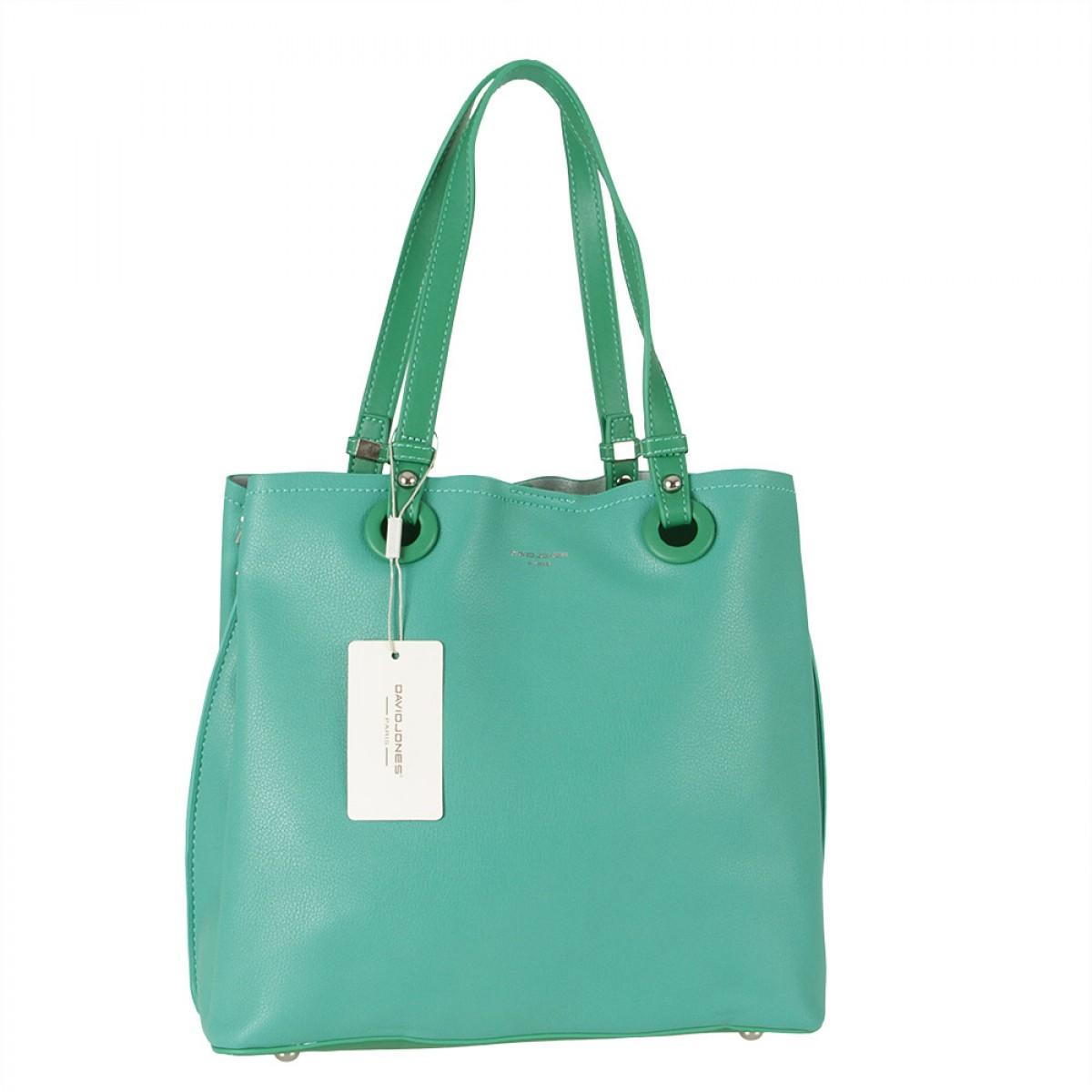 Жіноча сумка David Jones CM5681 GREEN