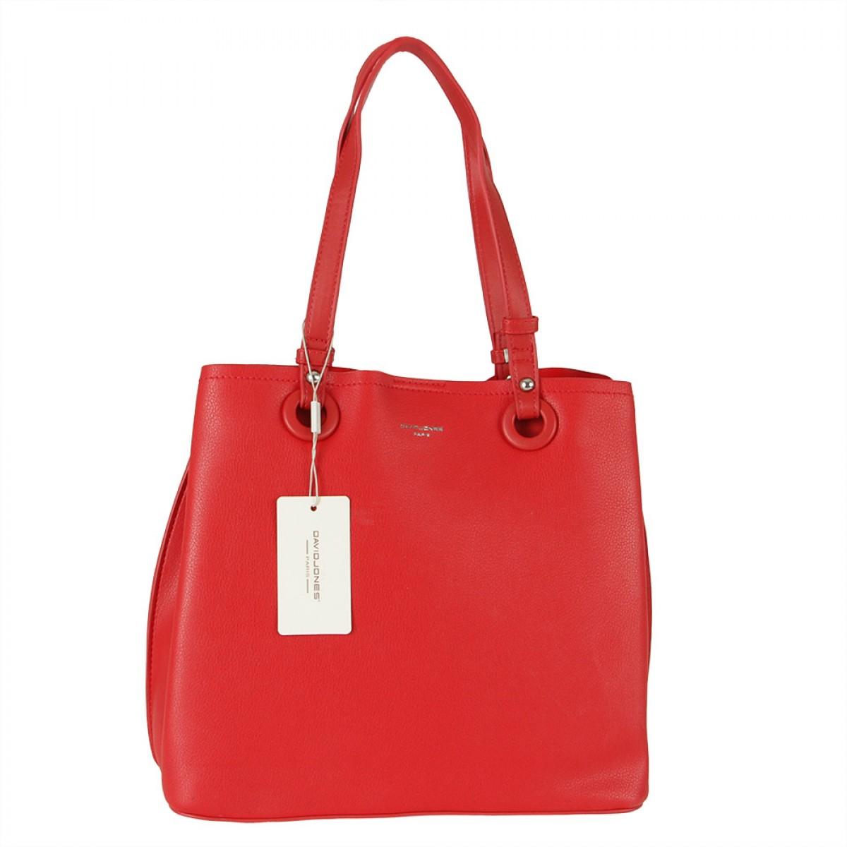 Жіноча сумка David Jones CM5681 RED