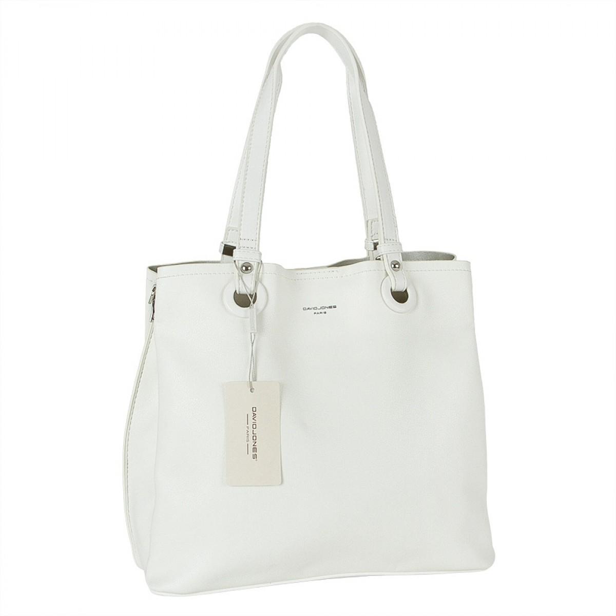 Жіноча сумка David Jones CM5681 WHITE