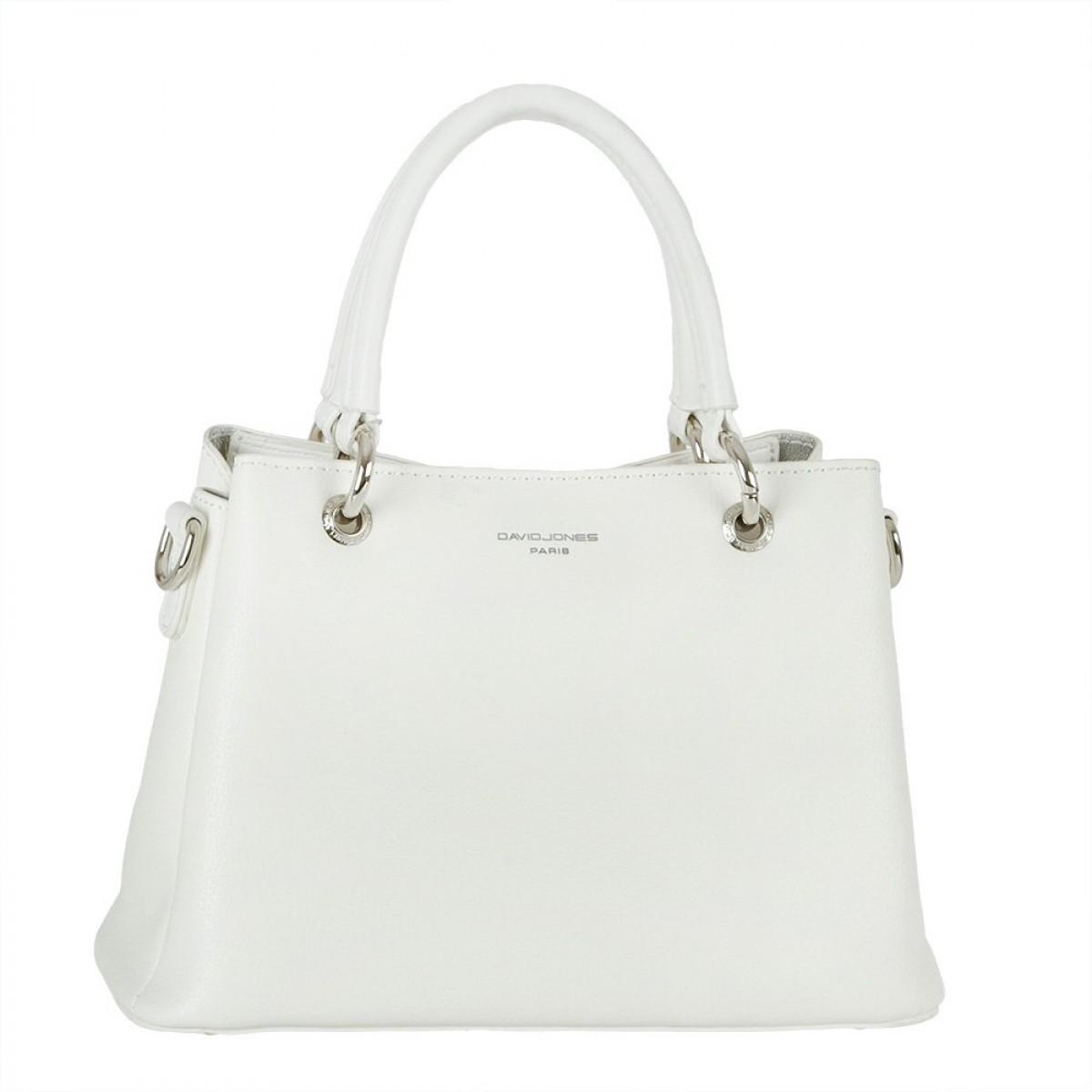 Жіноча сумка David Jones CM5682 WHITE