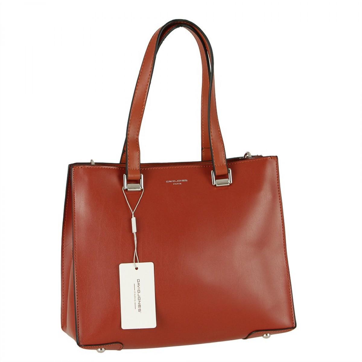 Жіноча сумка David Jones CM5689 BRICK RED