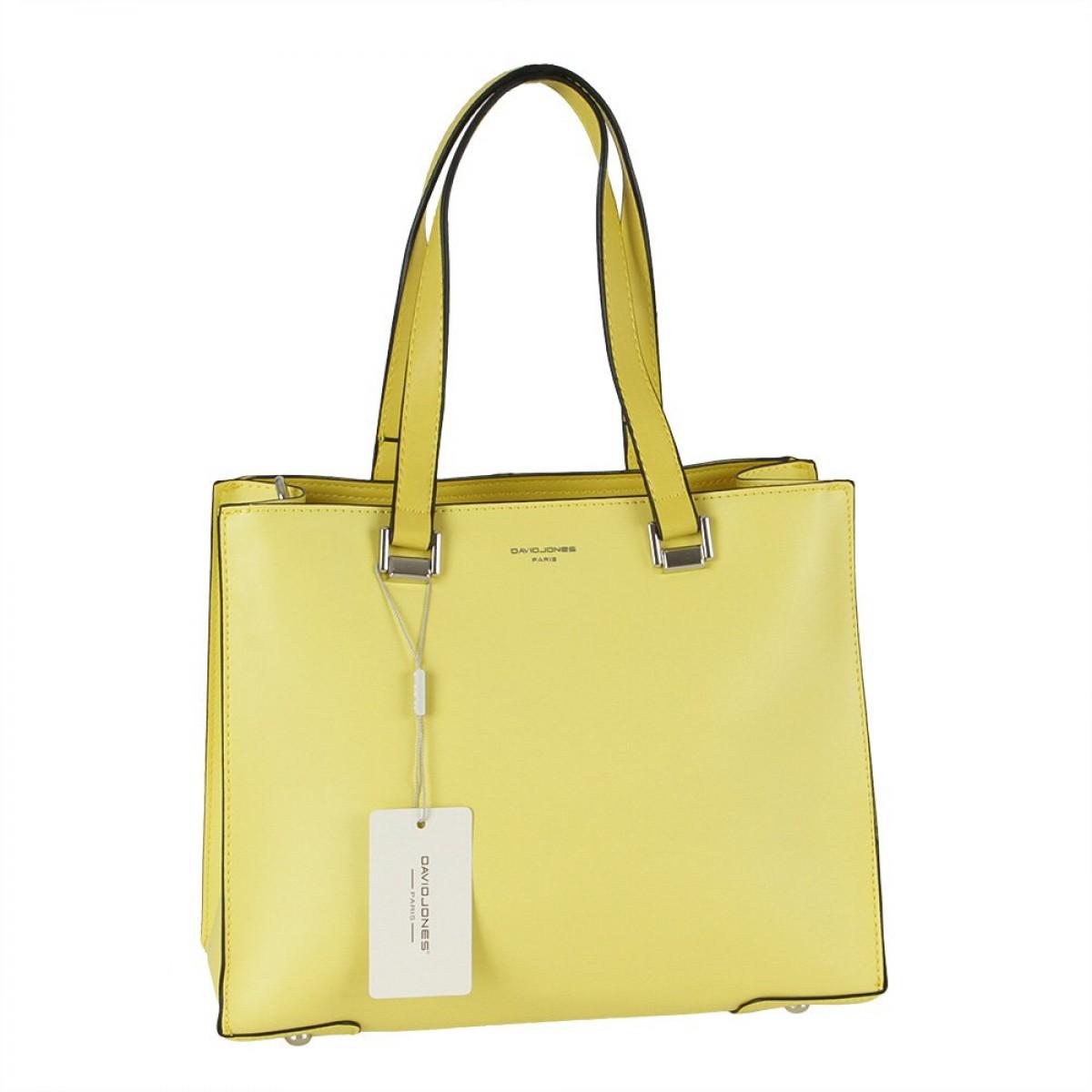 Жіноча сумка David Jones CM5689 FEINT YELLOW