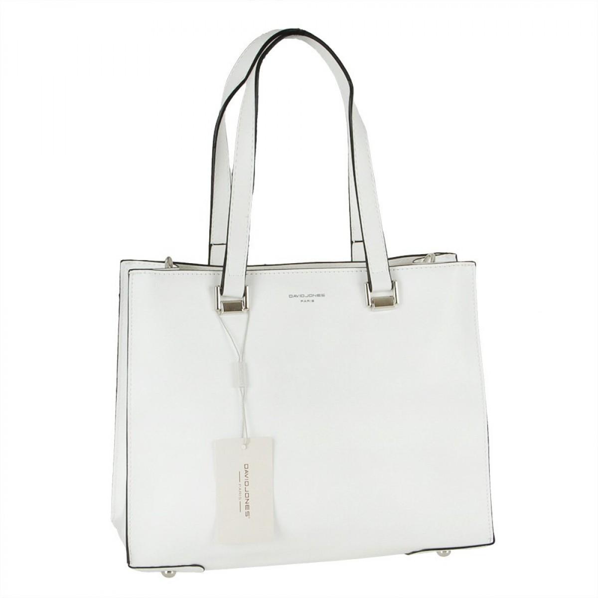 Жіноча сумка David Jones CM5689 WHITE
