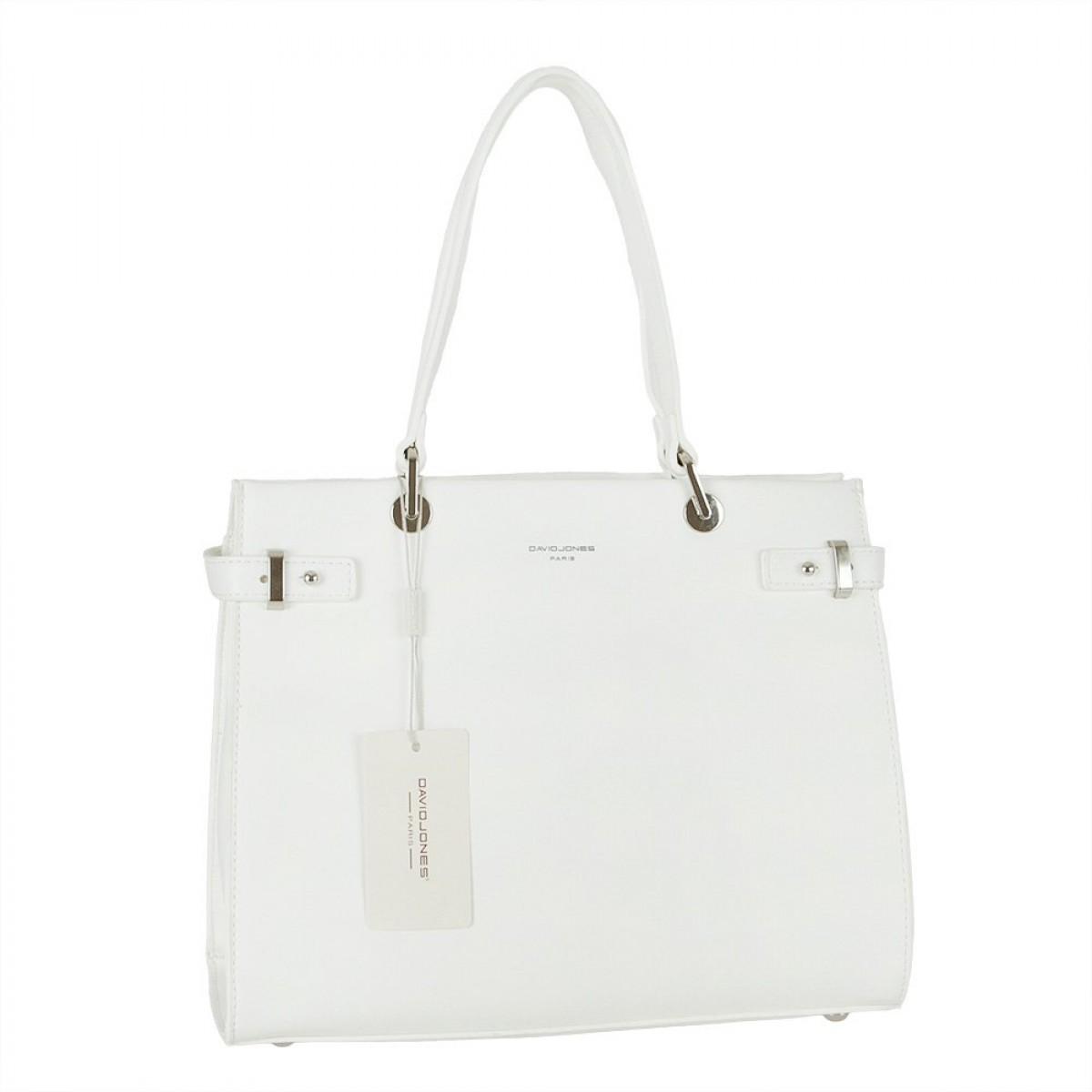 Жіноча сумка David Jones CM5693 WHITE