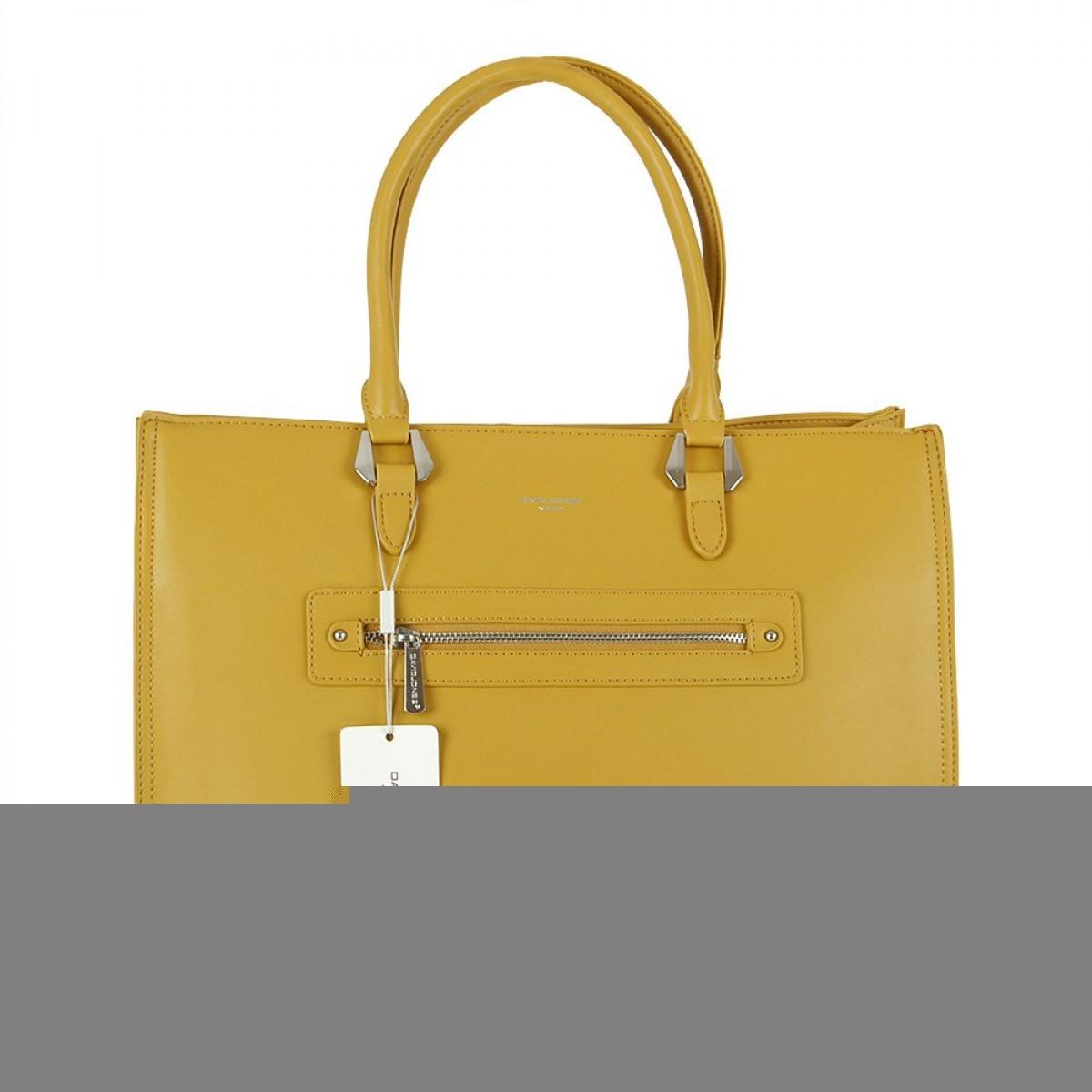 Жіноча сумка David Jones CM5696 MUSTARD