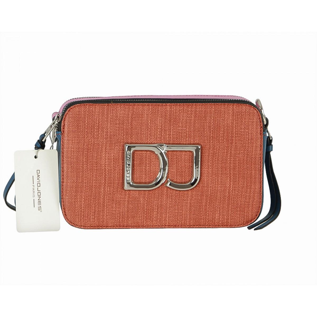 Жіноча сумка David Jones CM5701 BRICK RED