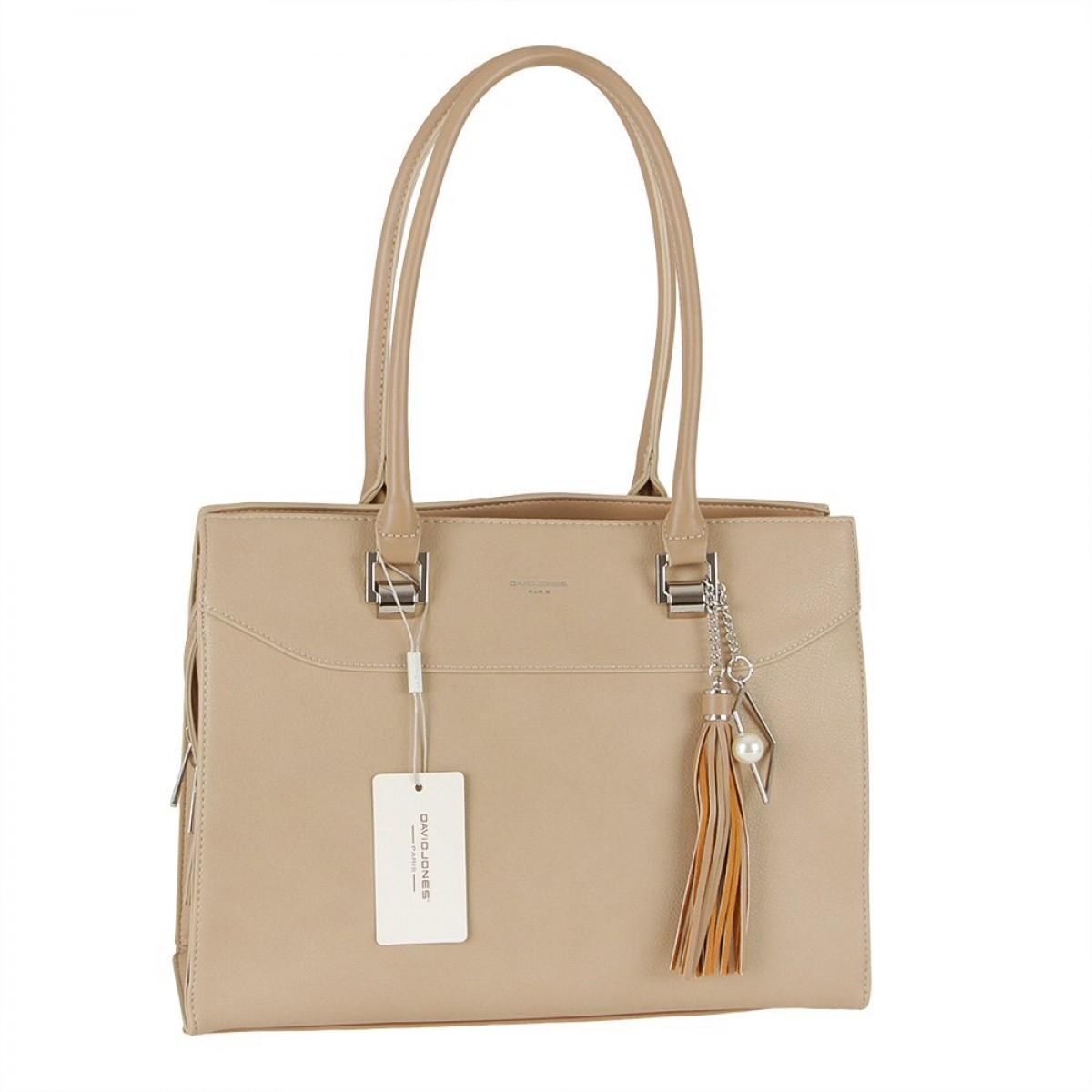 Жіноча сумка David Jones CM5705 L.CAMEL