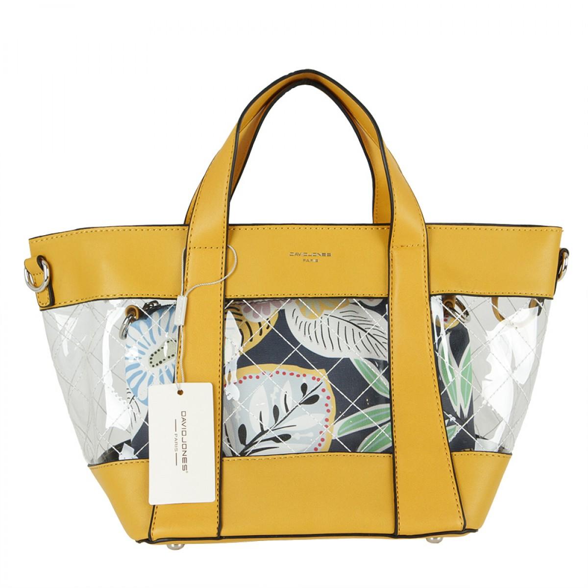 Жіноча сумка David Jones CM5717 YELLOW