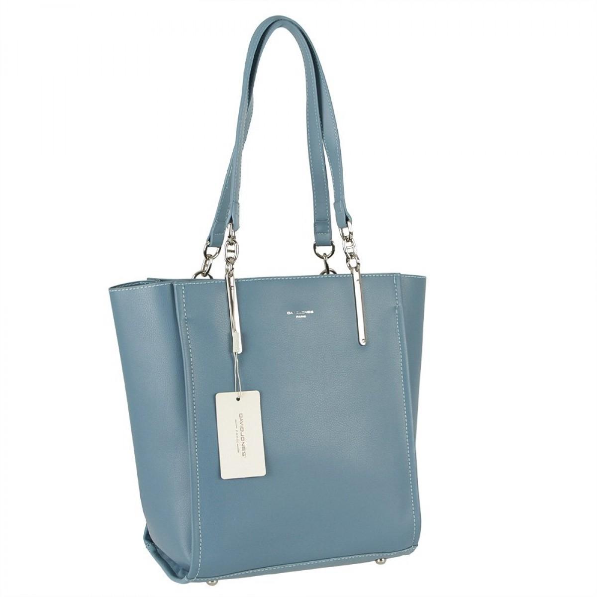 Жіноча сумка David Jones CM5719 L.BLUE