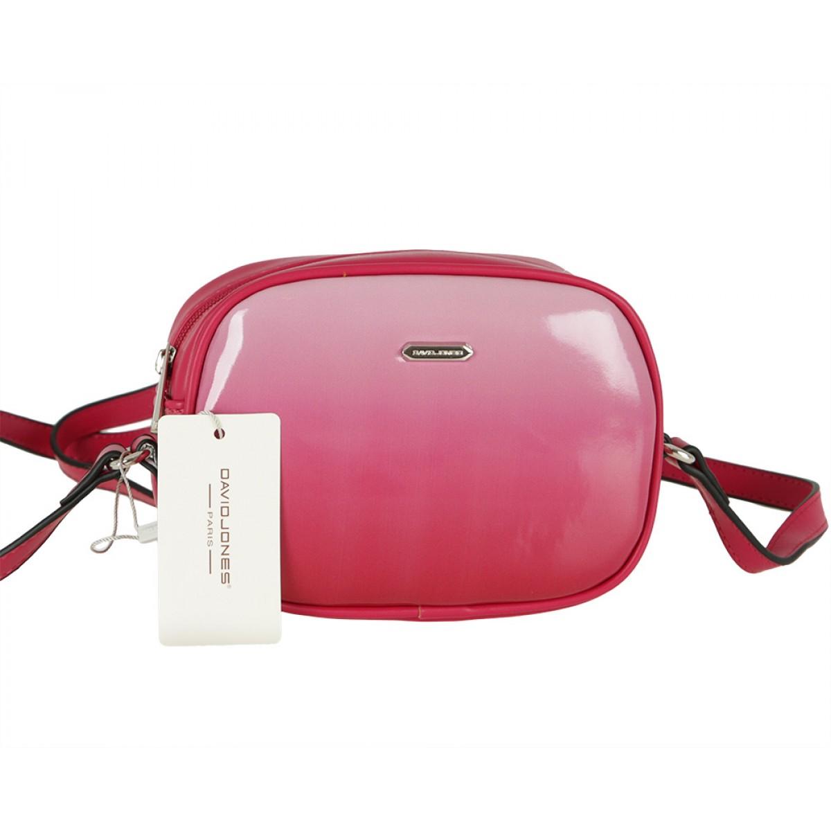 Жіноча сумка David Jones CM5722 ROSE RED