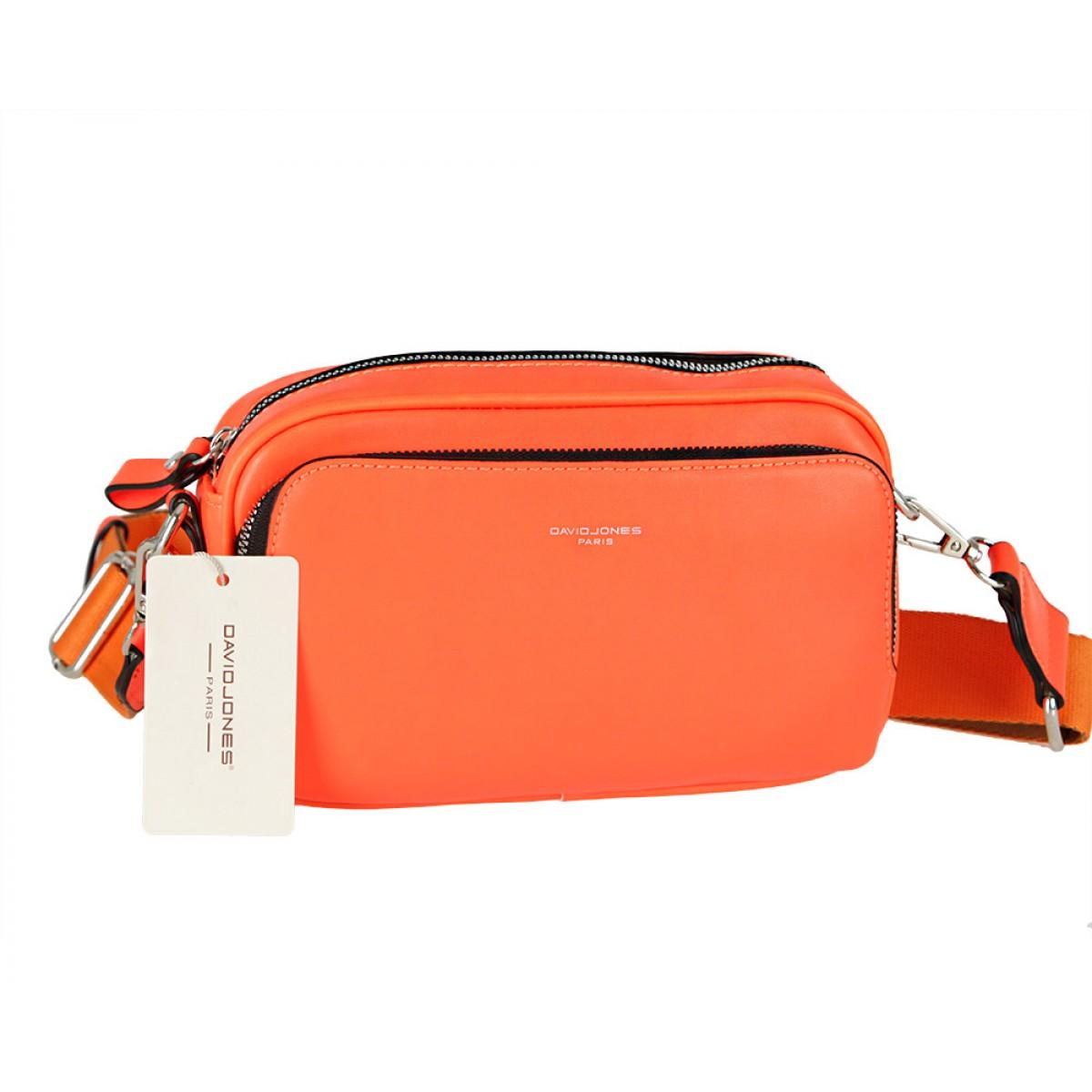 Жіноча сумка David Jones CM5724 ORANGE