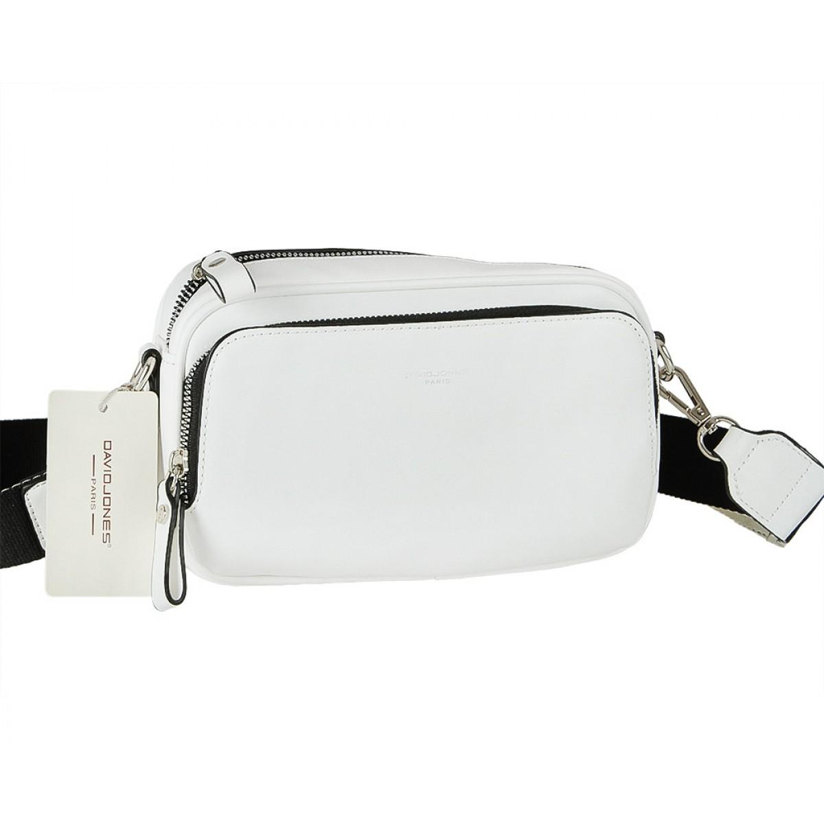 Жіноча сумка David Jones CM5724 WHITE