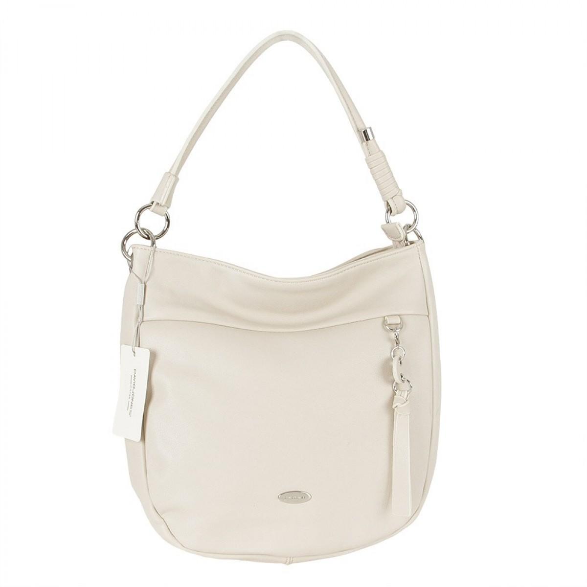 Жіноча сумка David Jones  CM5725 CREAMY WHITE