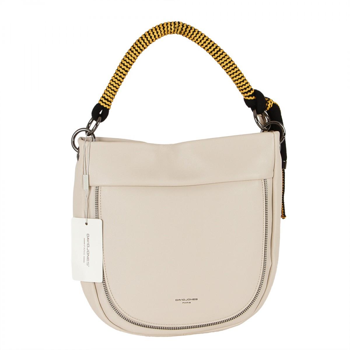 Жіноча сумка David Jones CM5736 BEIGE
