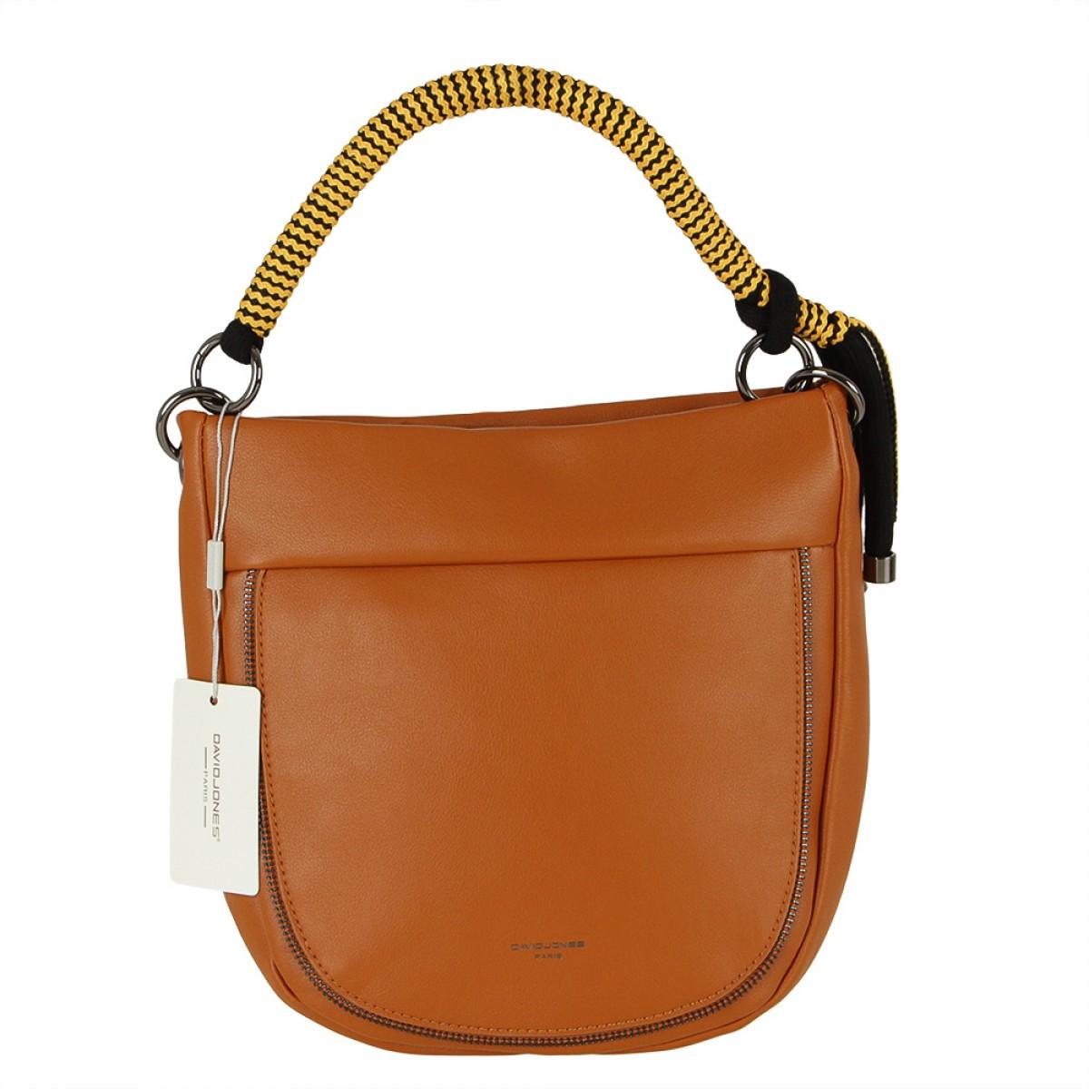 Жіноча сумка David Jones CM5736 COGNAC