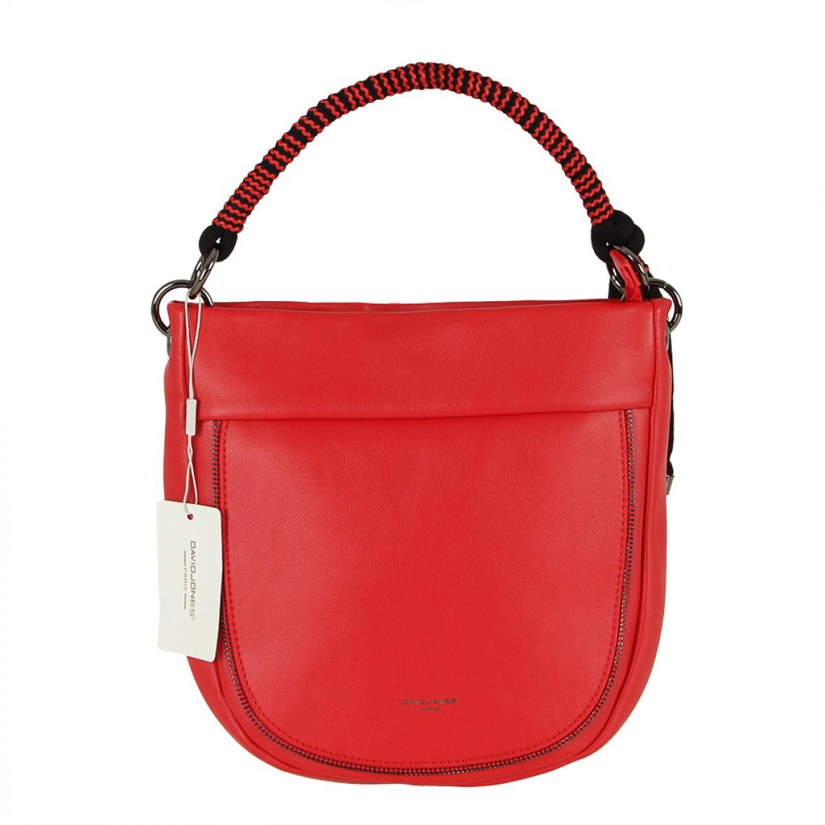 Жіноча сумка David Jones CM5736 RED