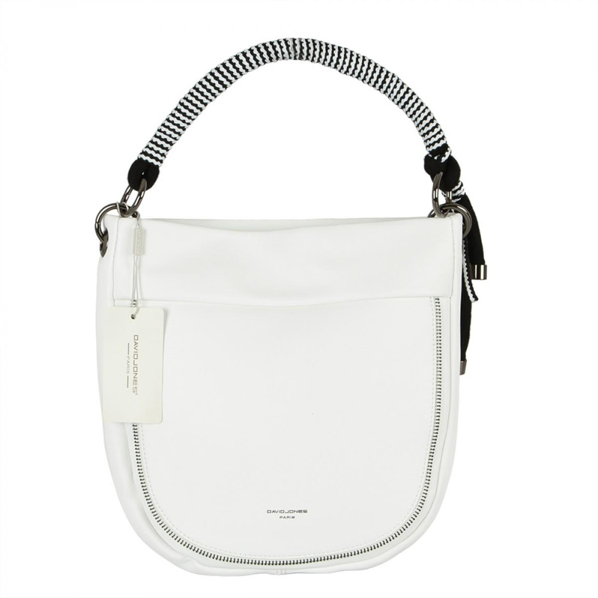 Жіноча сумка David Jones CM5736 WHITE