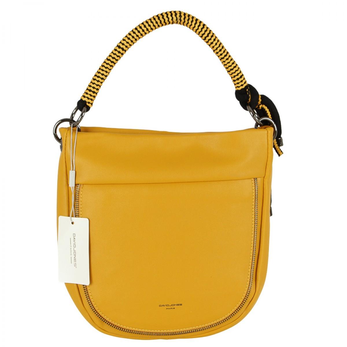Жіноча сумка David Jones CM5736 YELLOW