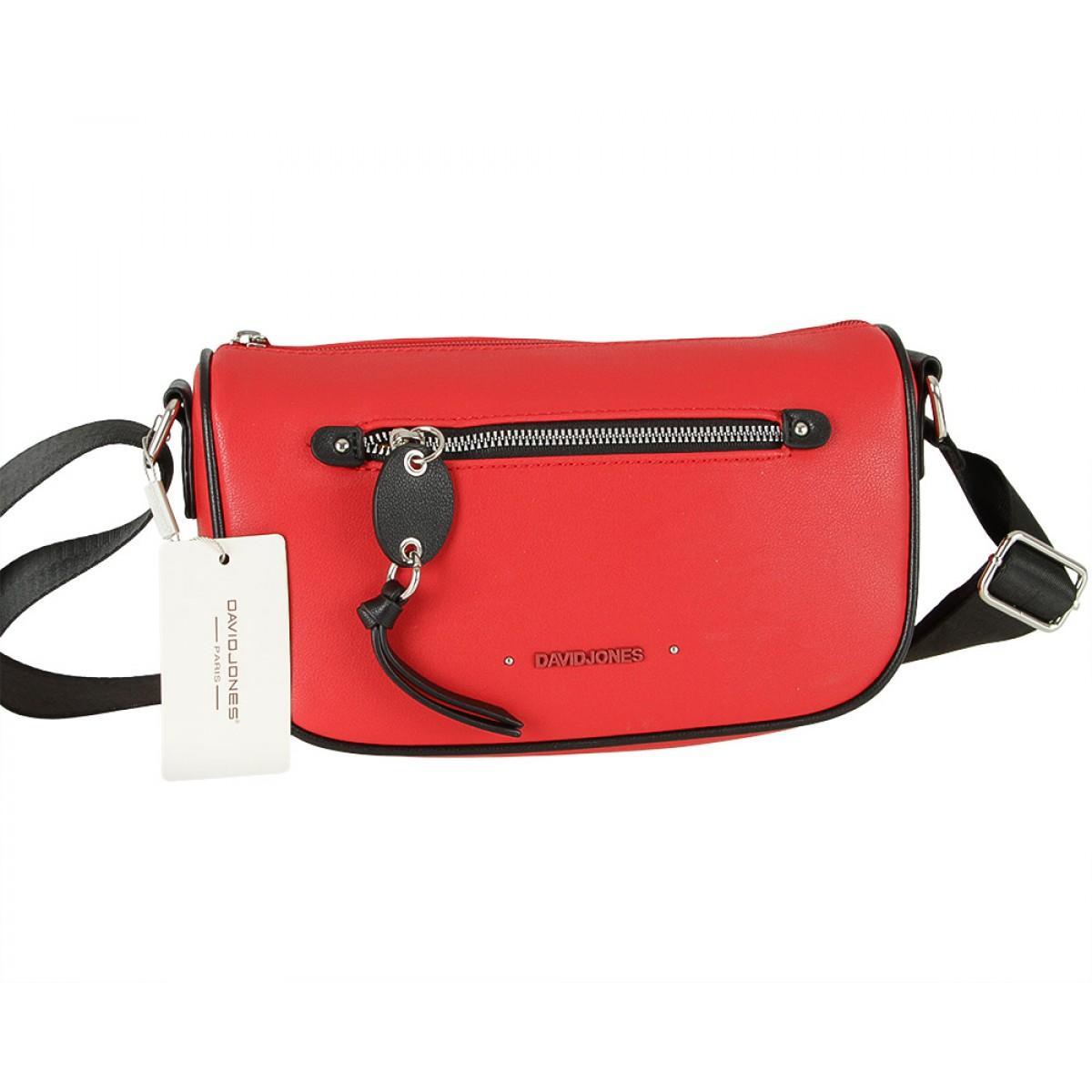 Жіноча сумка David Jones CM5738 RED