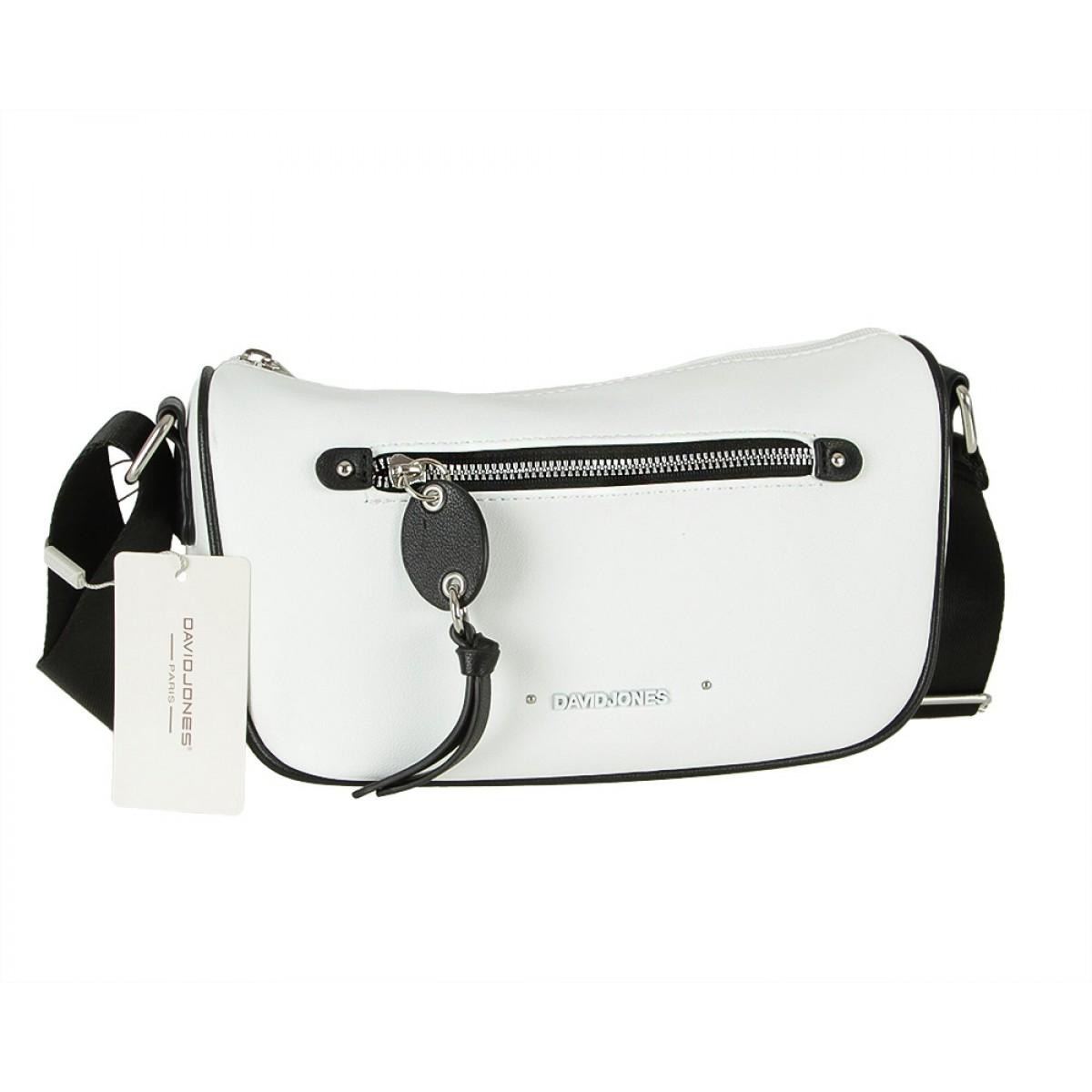 Жіноча сумка David Jones CM5738 WHITE