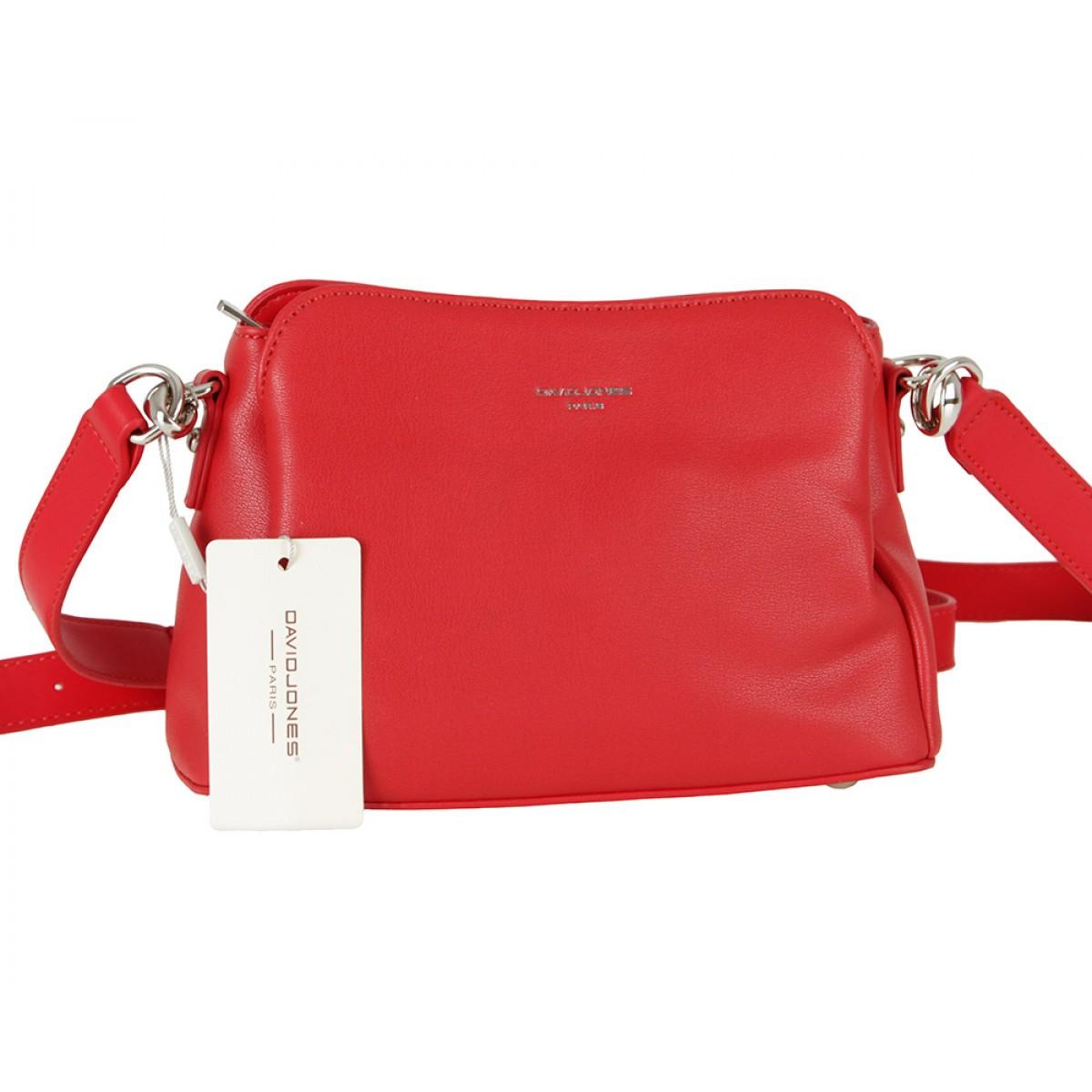 Жіноча сумка David Jones CM5744 RED