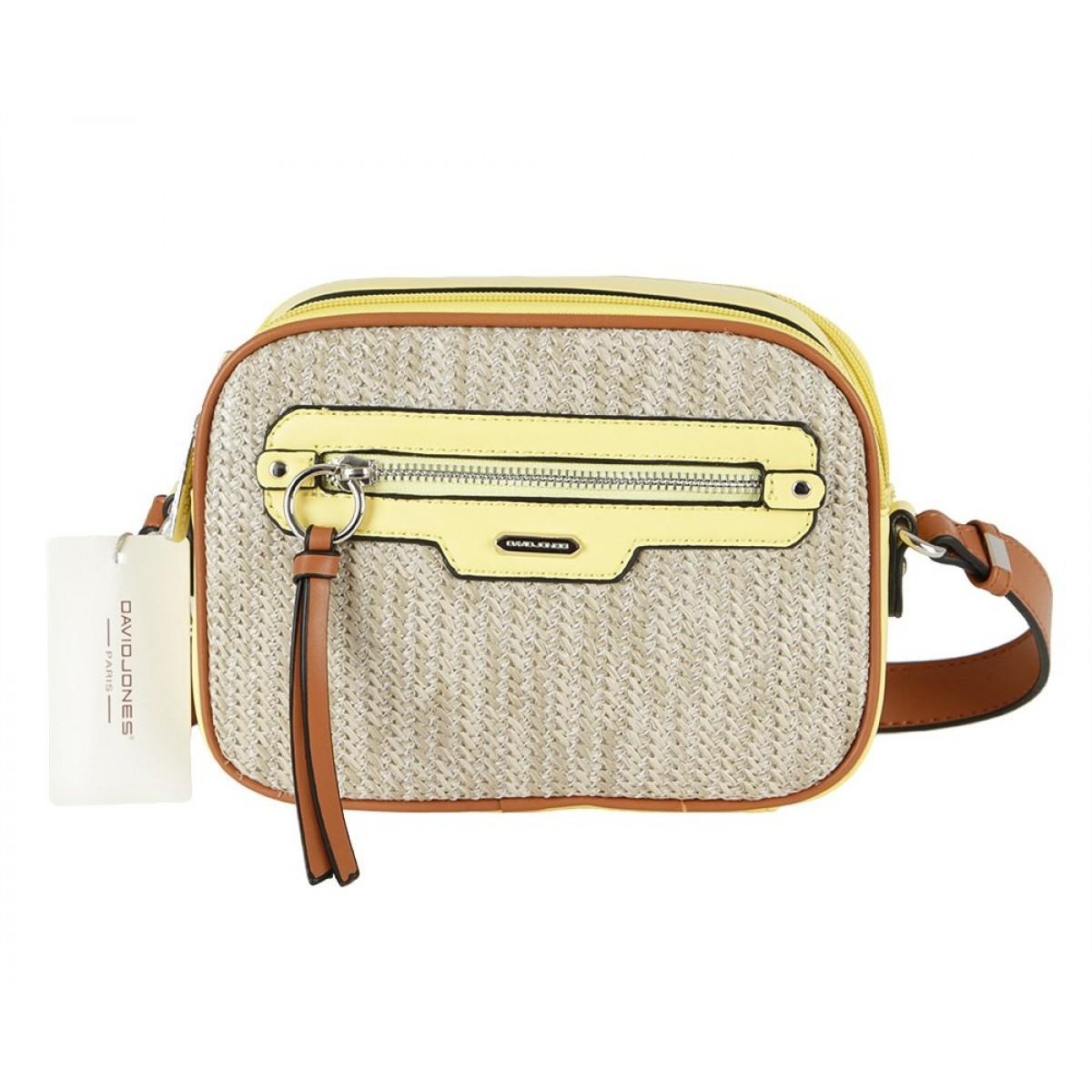Жіноча сумка David Jones CM5756 FEINT YELLOW