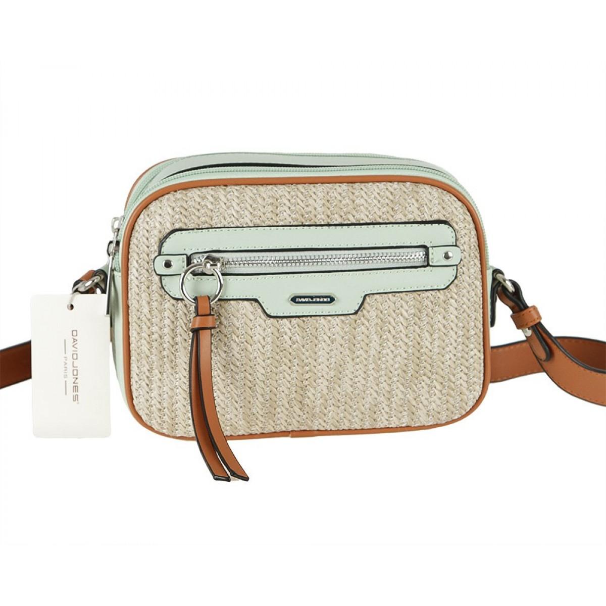 Жіноча сумка David Jones CM5756 PALE GREEN