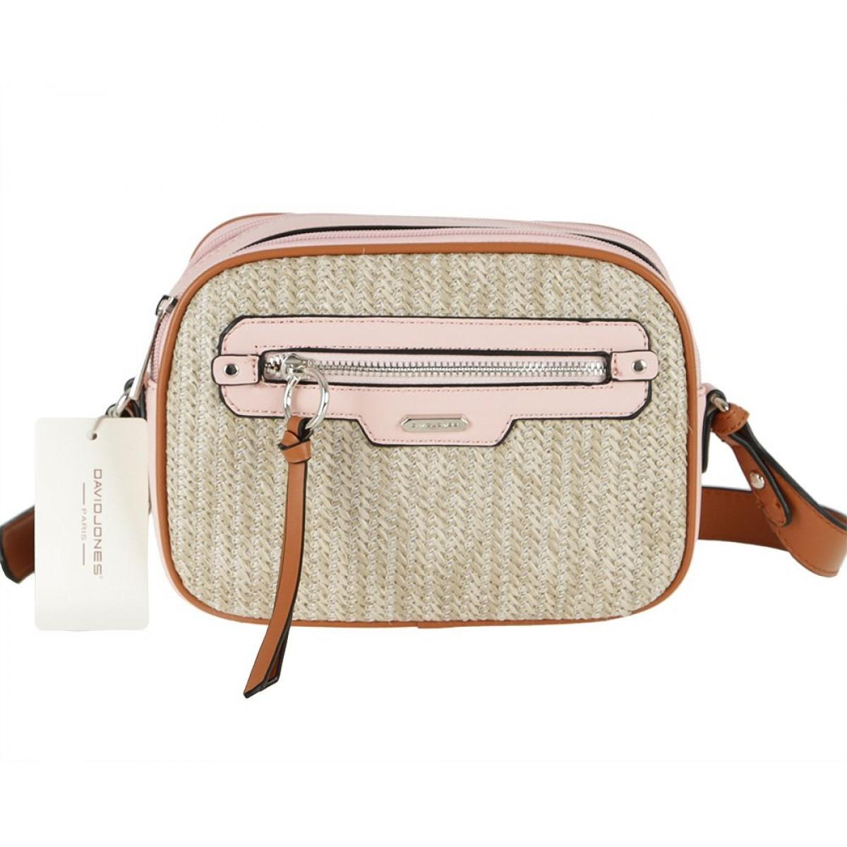 Жіноча сумка David Jones CM5756 PINK