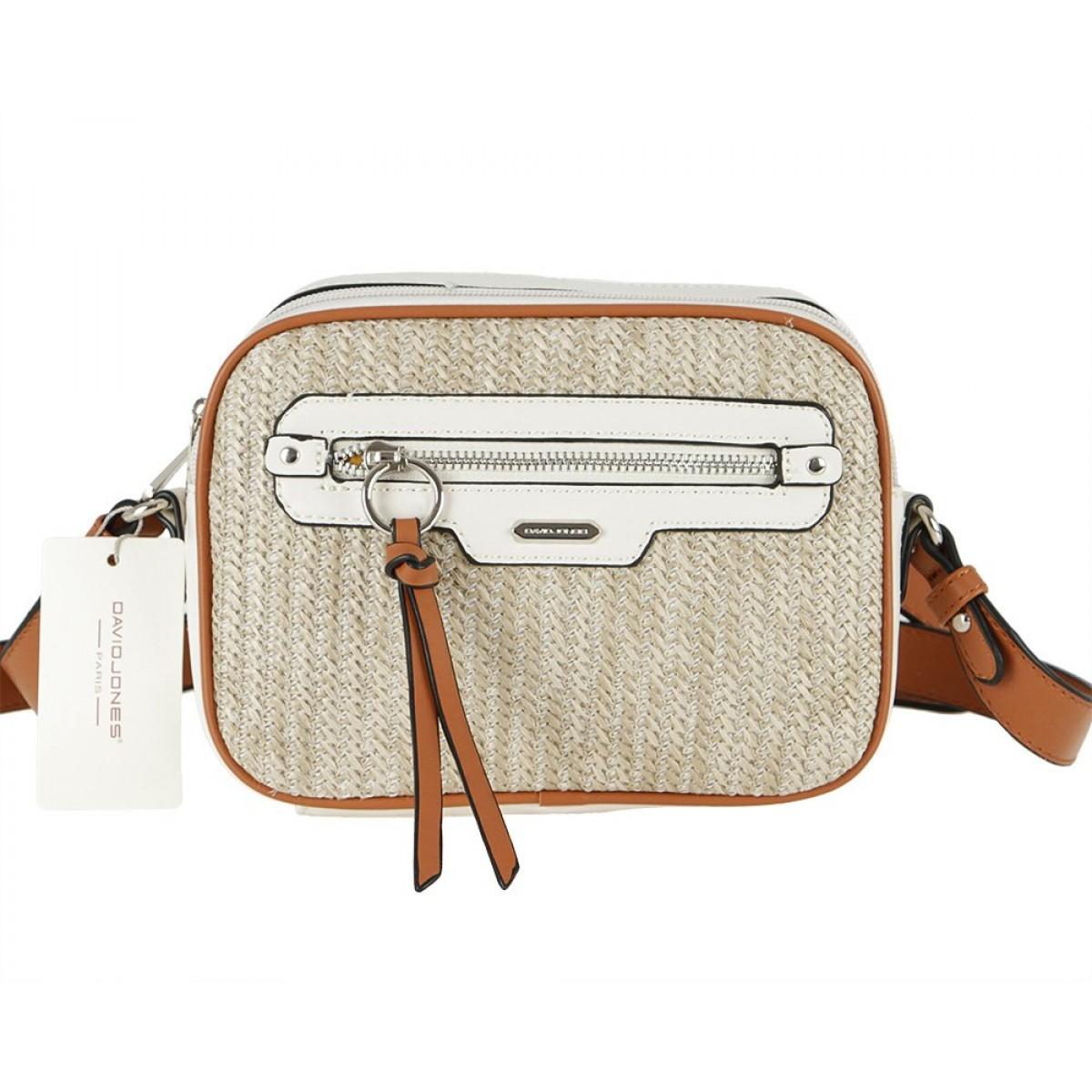 Жіноча сумка David Jones CM5756 CREAMY WHITE
