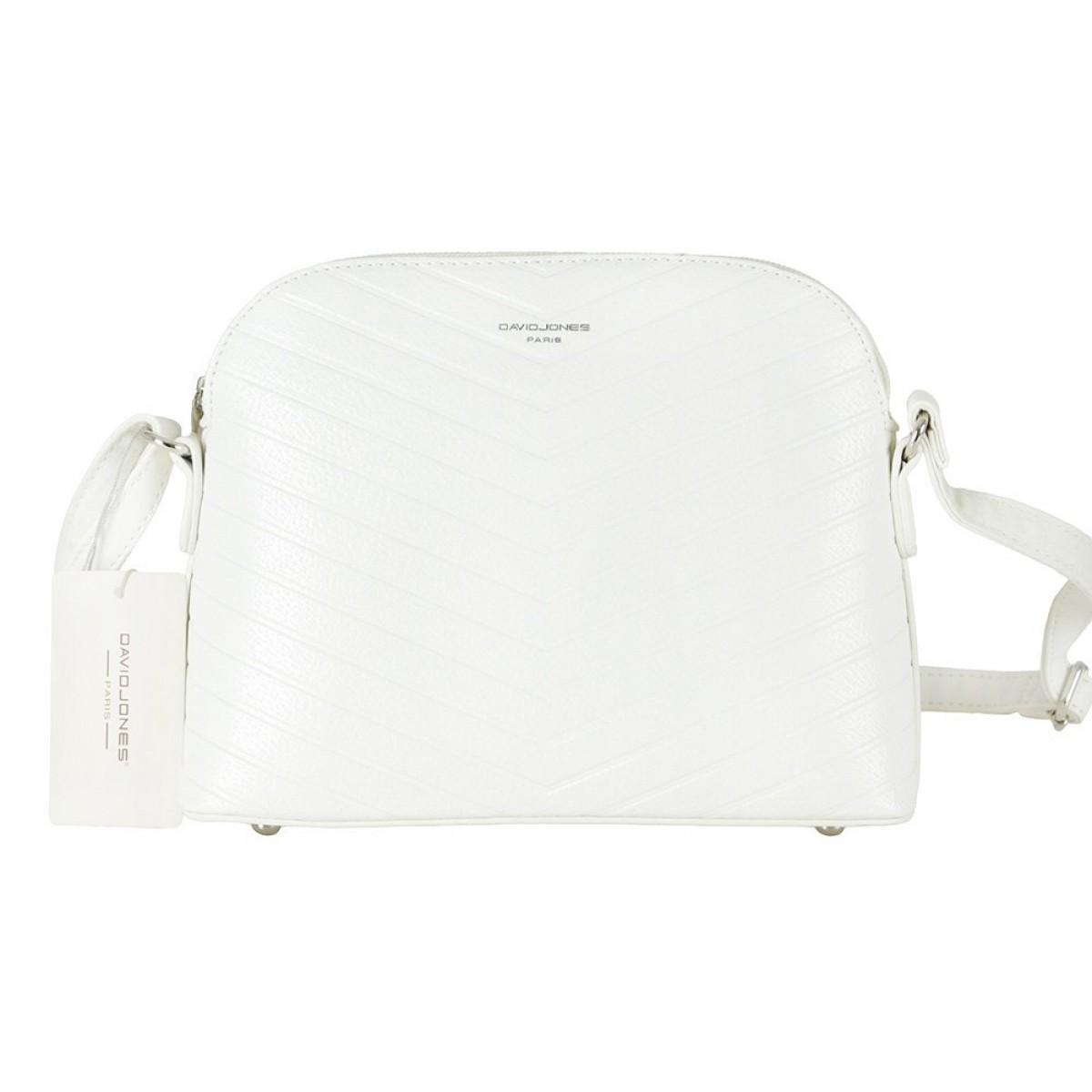 Жіноча сумка David Jones CM5758 WHITE