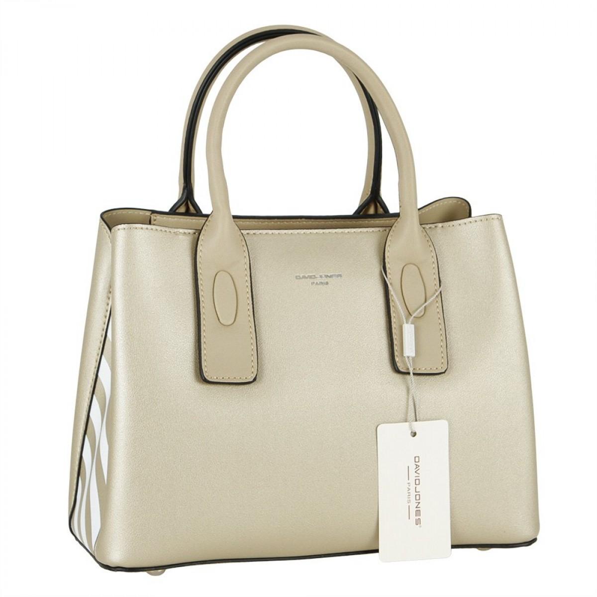 Жіноча сумка David Jones CM5760 GOLD