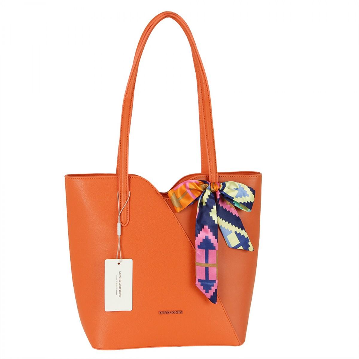 Жіноча сумка David Jones CM5761 ORANGE