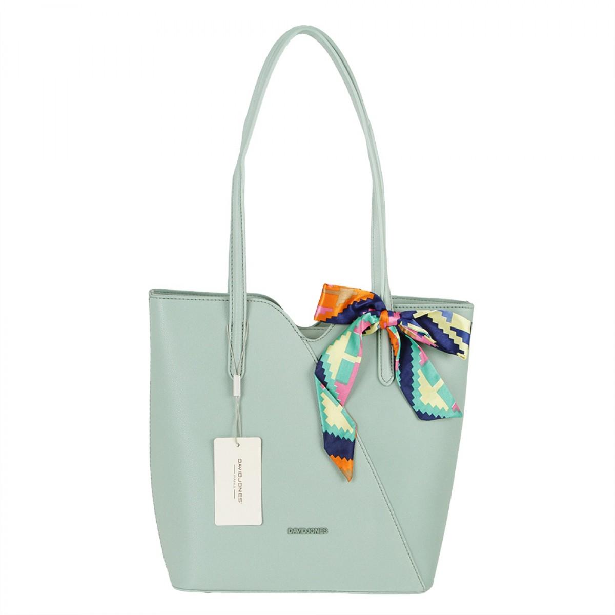 Жіноча сумка David Jones CM5761 PALE GREEN