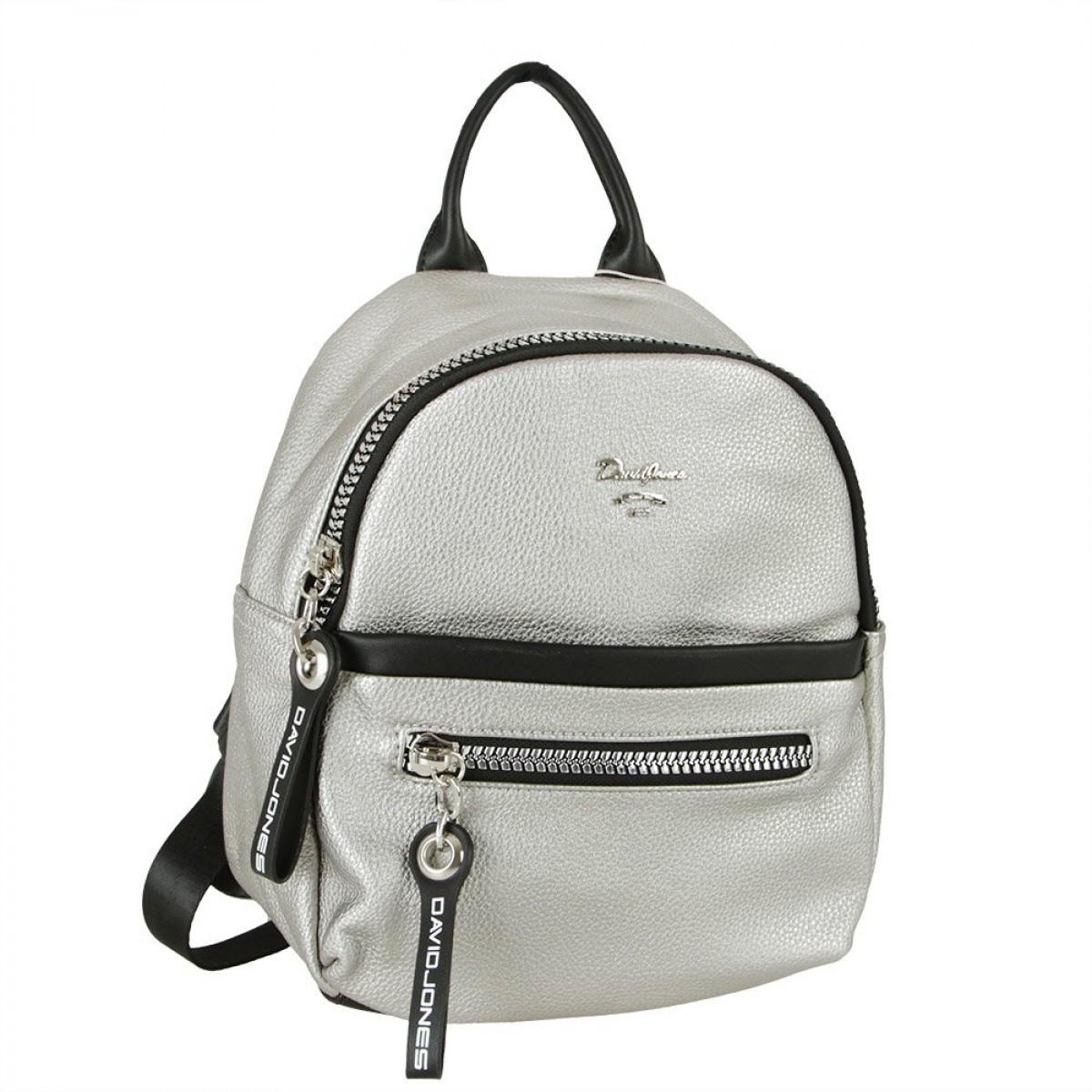 Жіночий рюкзак David Jones CM5765 SILVER