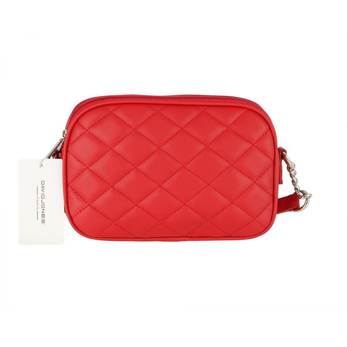 Жіноча сумка David Jones CM5767 RED