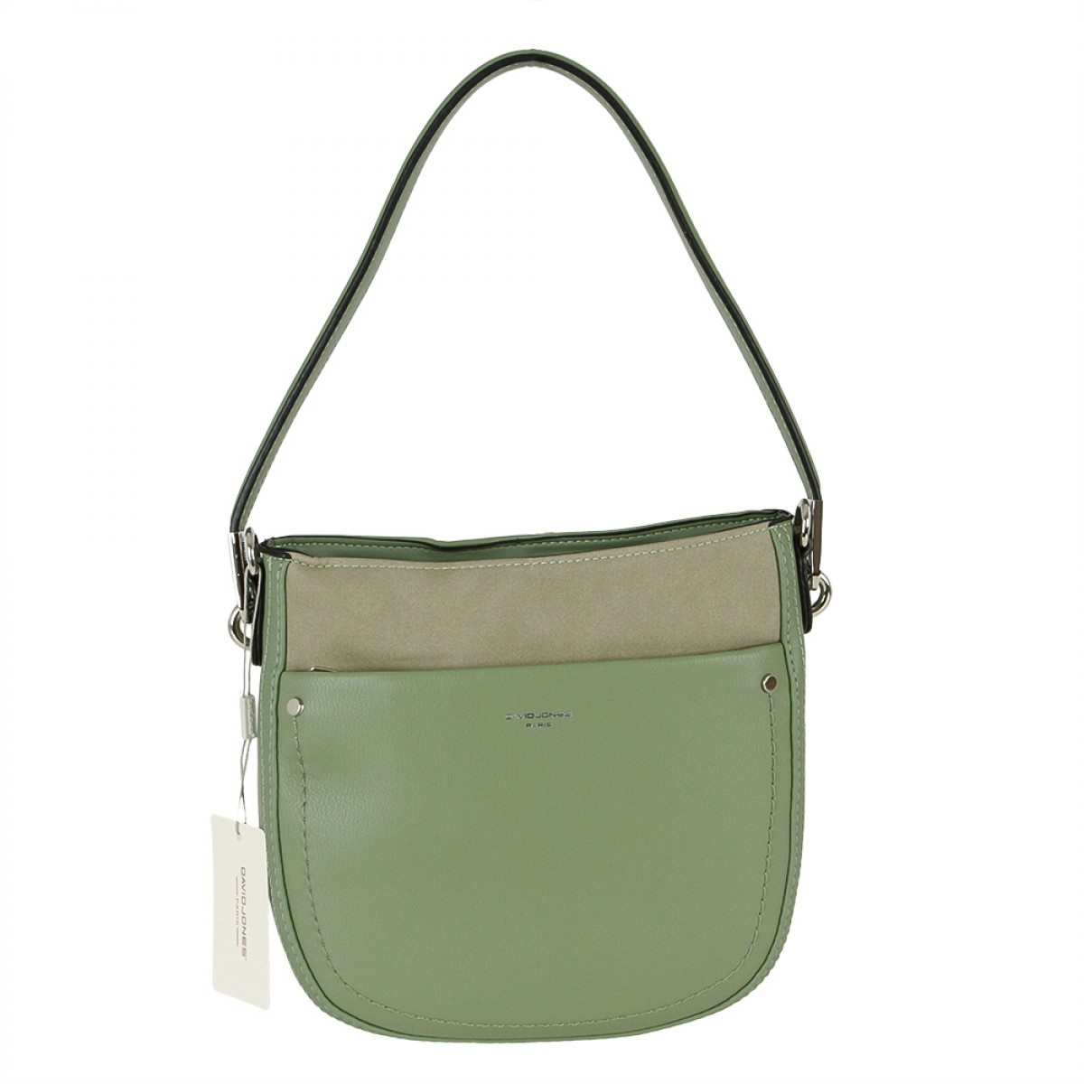 Жіноча сумка David Jones CM5768 LIGHT GREEN