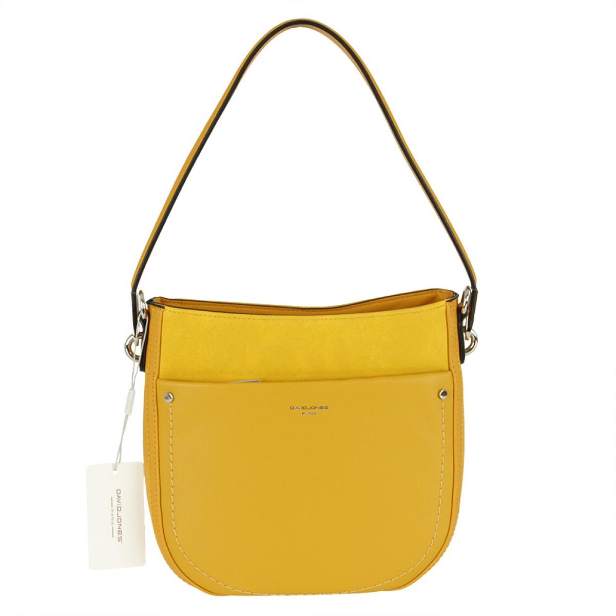 Жіноча сумка David Jones CM5768 YELLOW