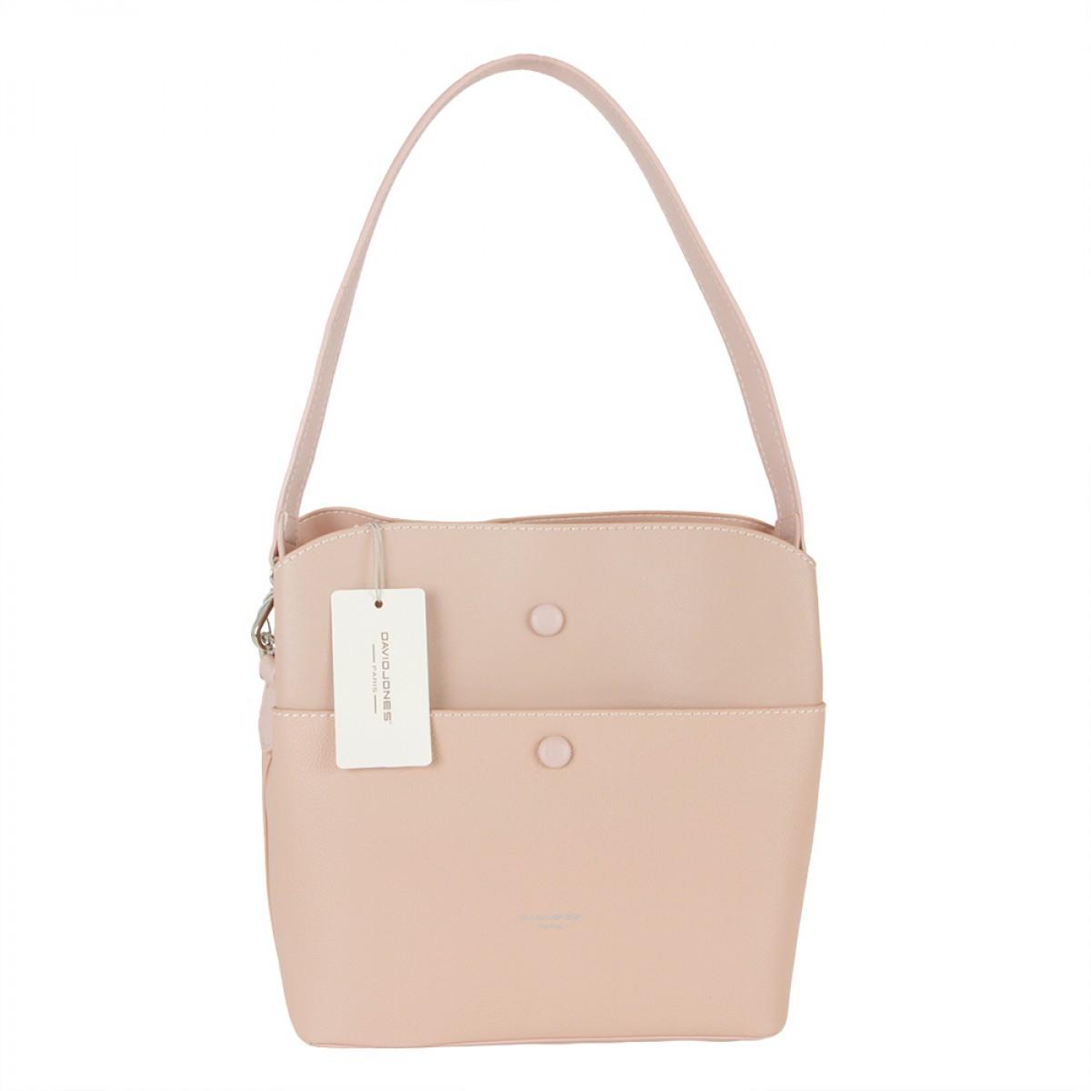 Жіноча сумка David Jones CM5769 PINK