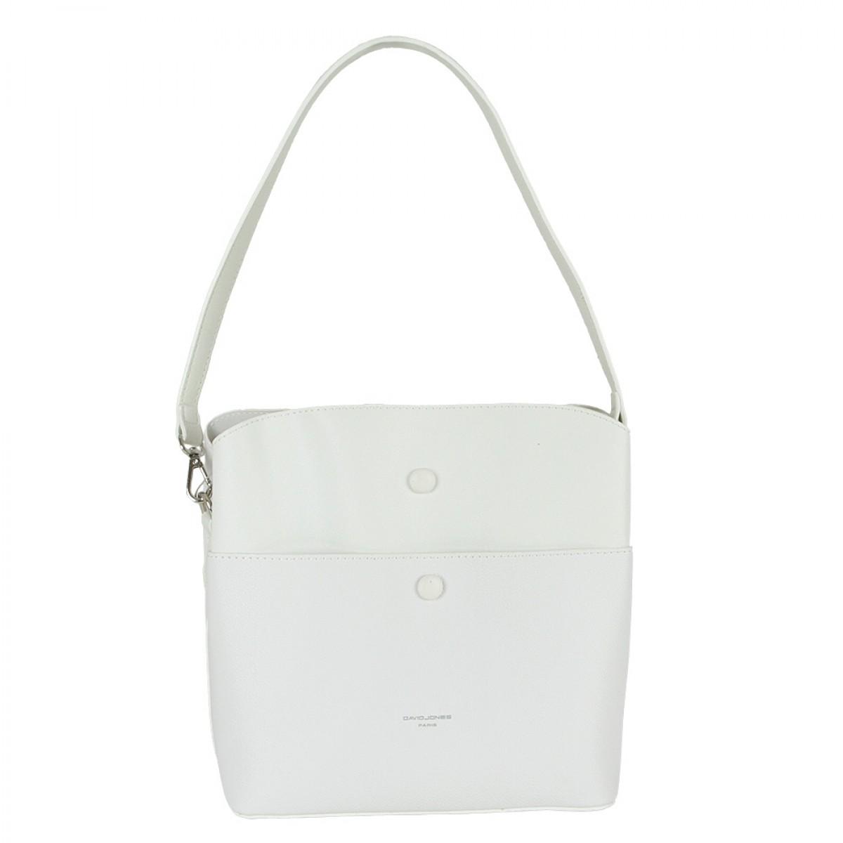 Жіноча сумка David Jones CM5769 WHITE